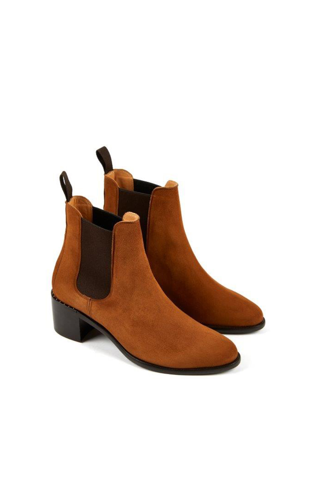 heschung Allure leather shoes in cashmere tobacco color la vallée village