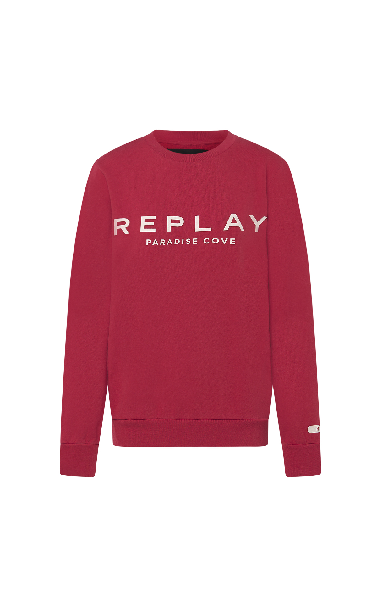 Red logo sweatshirt Replay