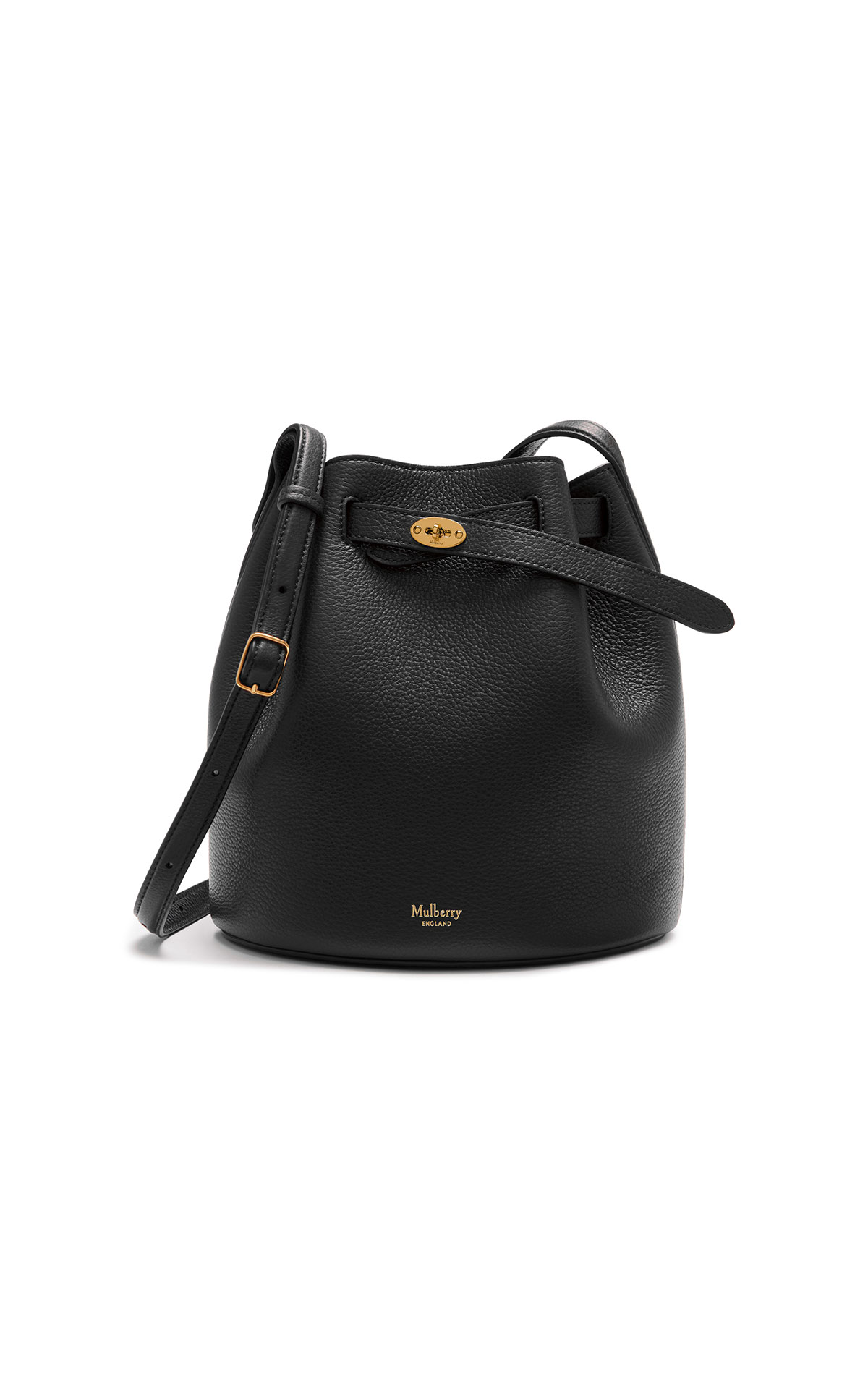 Mulberry Abbey classic grain black from Bicester Village