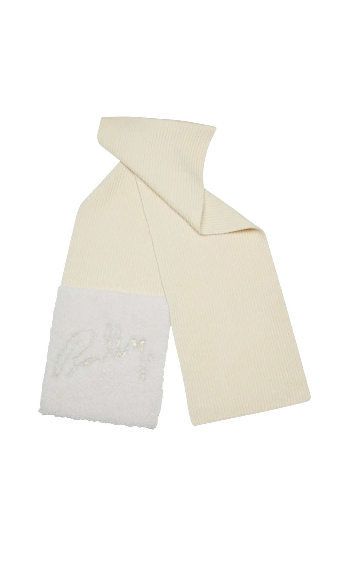 Bally   White scarf from Bicester Village