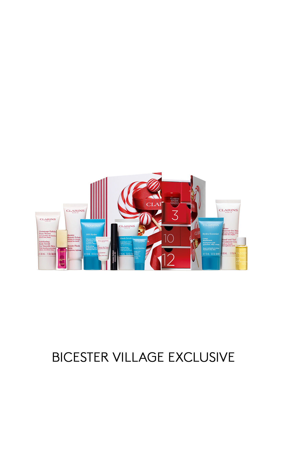 Clarins Women's advent calendar from Bicester Village