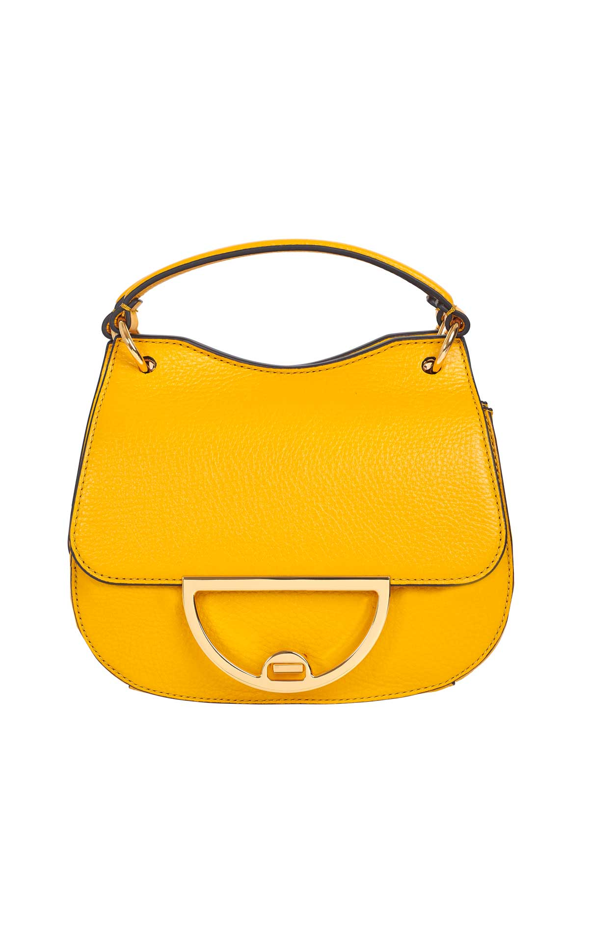 Yellow bag Coccinelle