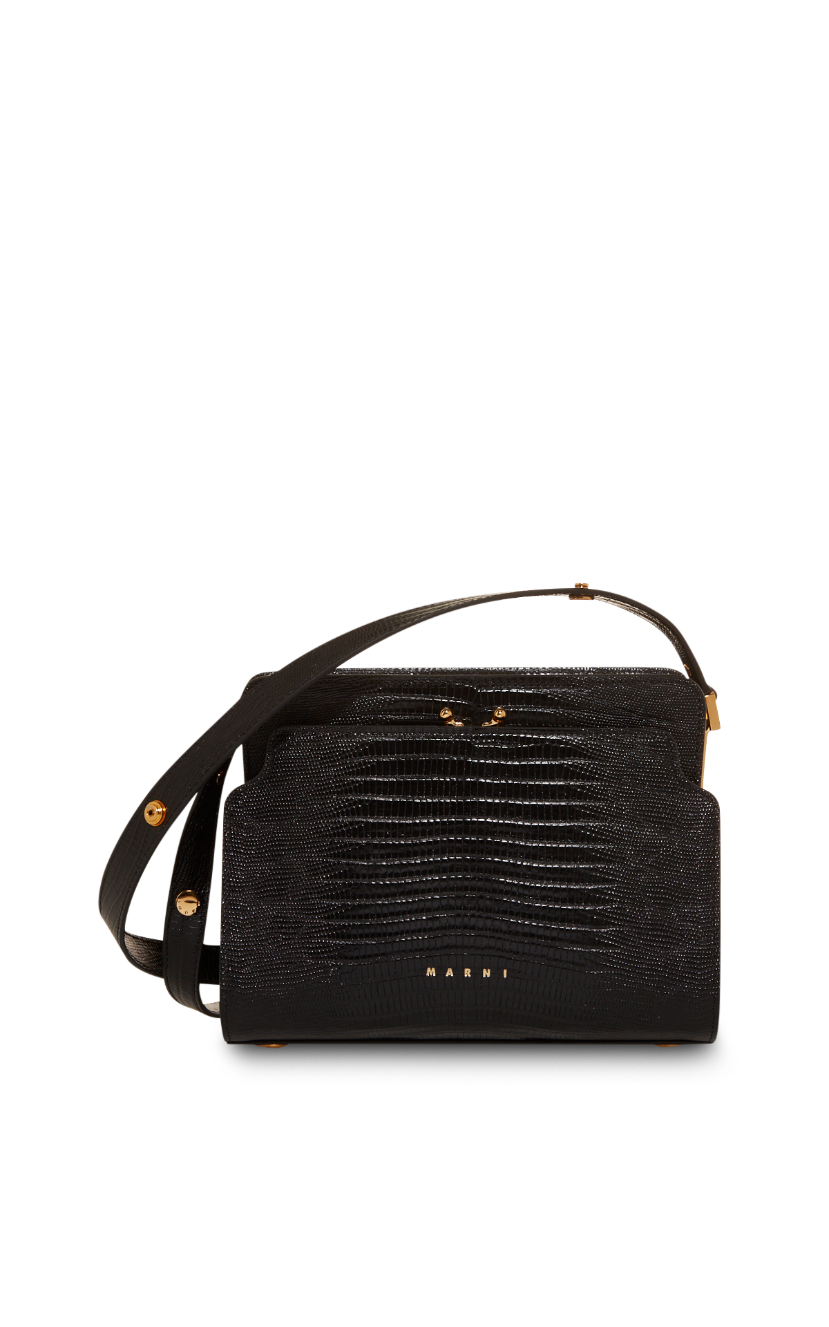 La Vallée Village Marni Reversible black bag