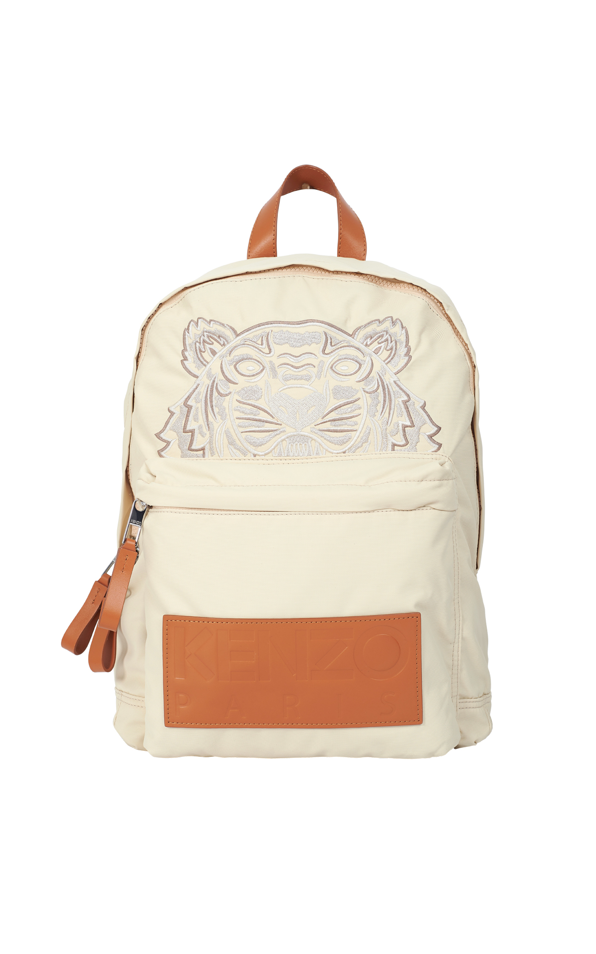 Beige backpack with tiger Kenzo