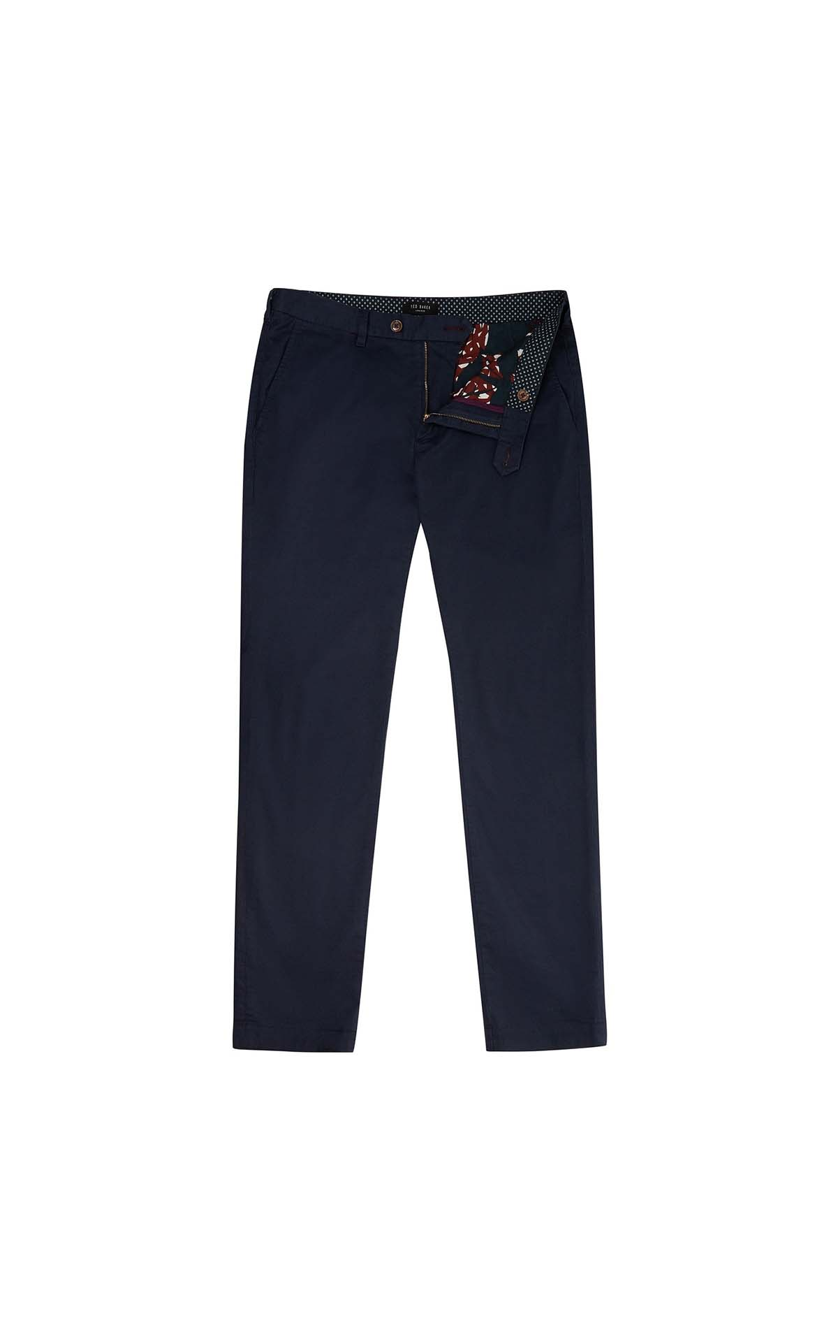 Ted Baker Slim fit printed chino at The Bicester Village Shopping Collection