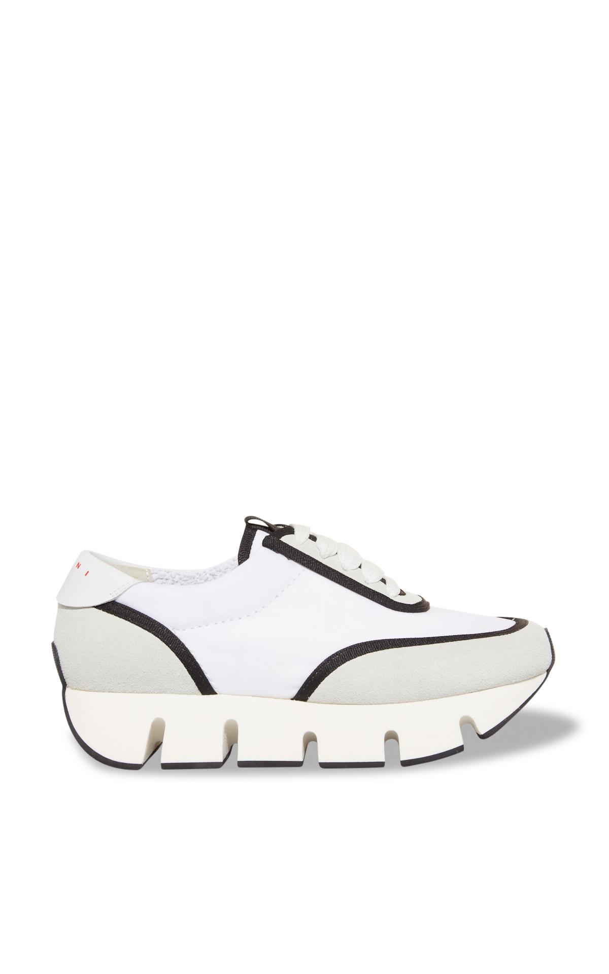 Marni Grey and white sneakers with white soles La Vallée Village