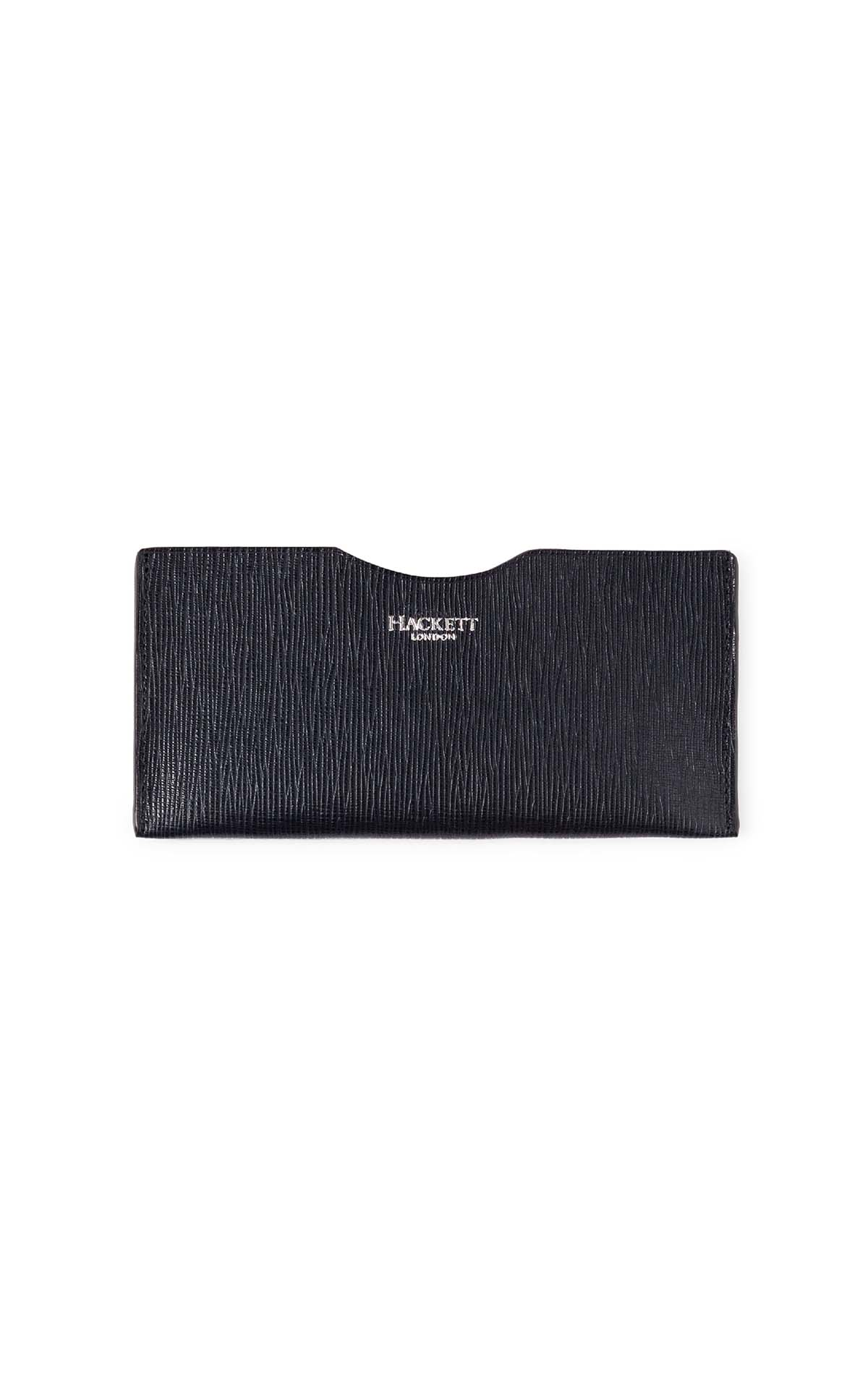 Hackett London Myf leather phone slip at The Bicester Village Shopping Collection