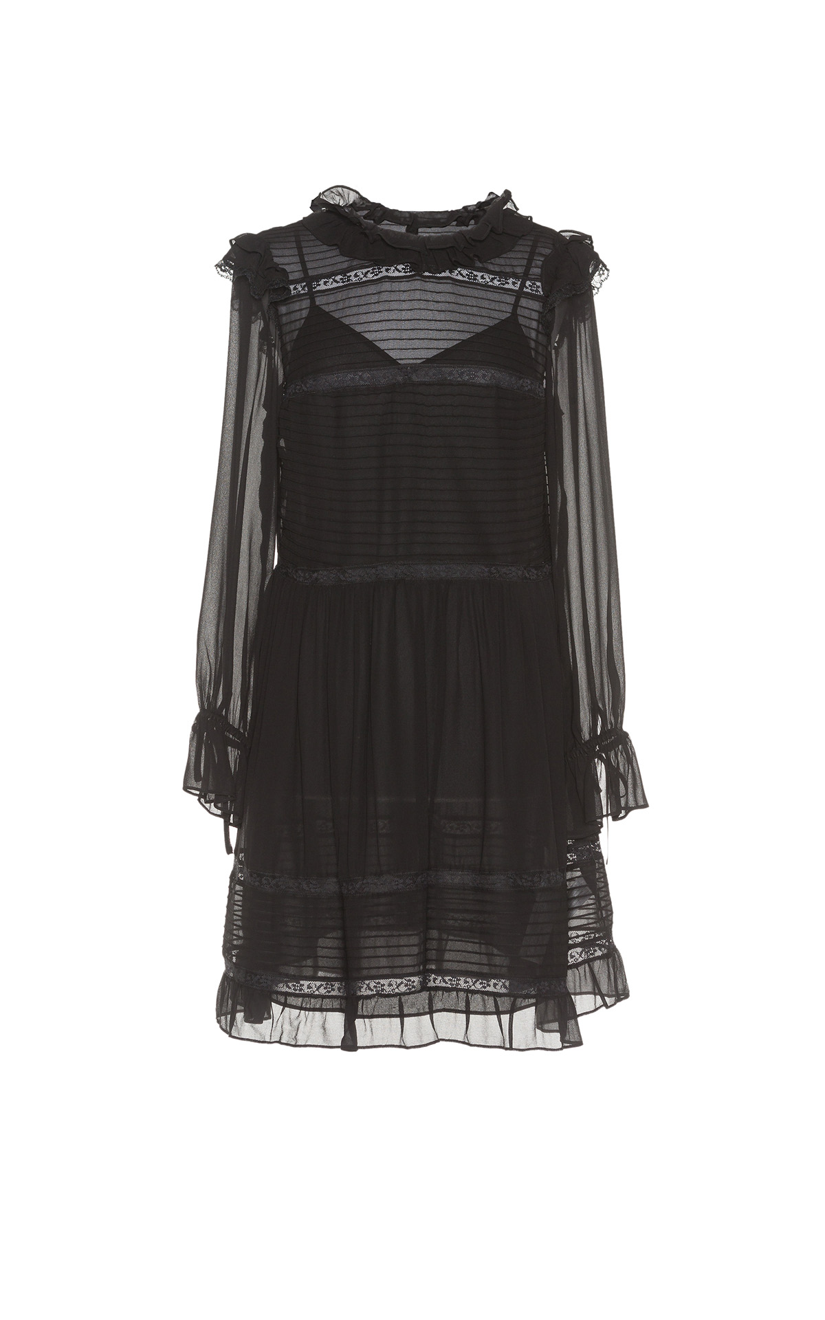 Black tulle dress TwinSet