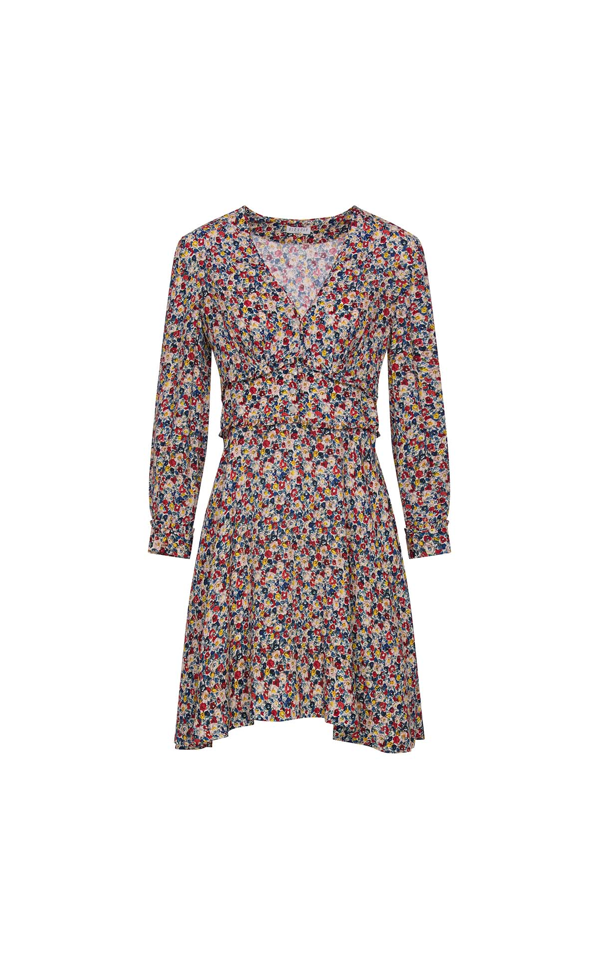 Short Rivabella flowered dress for woman Claudie Pierlot