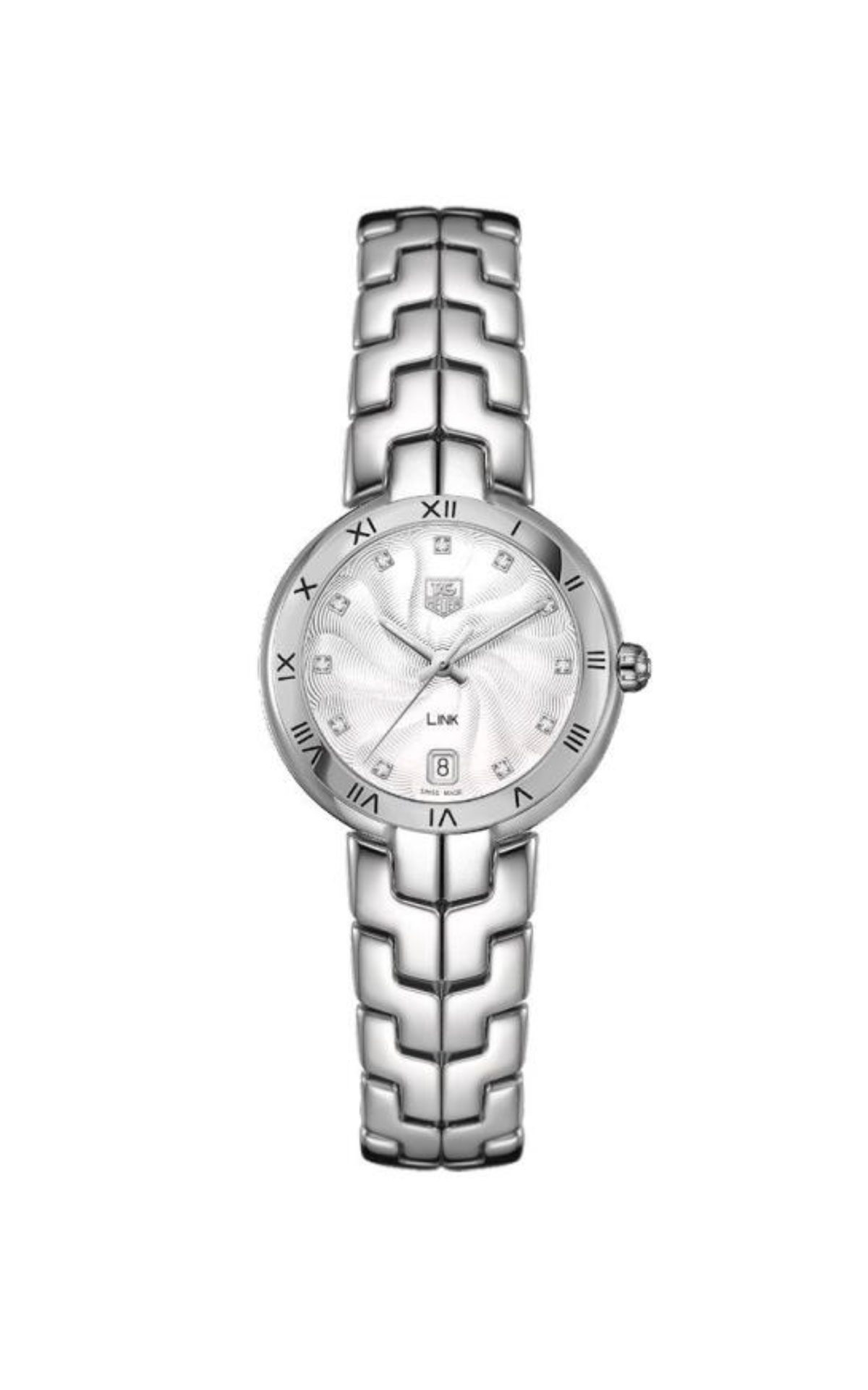 Silver watch for woman TAG Heuer