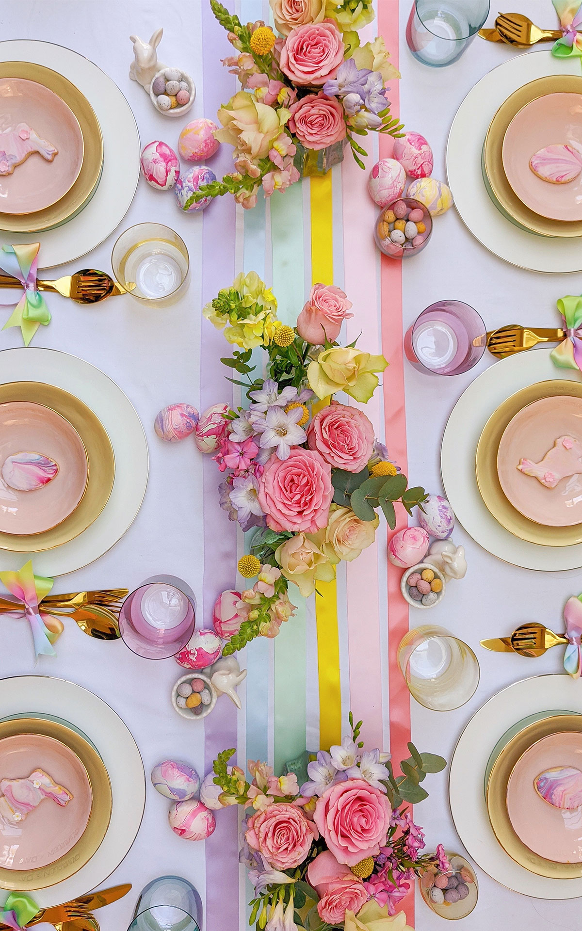 Easter table setting tips with Rosanna Falconer for the Bicester Village Shopping Collection