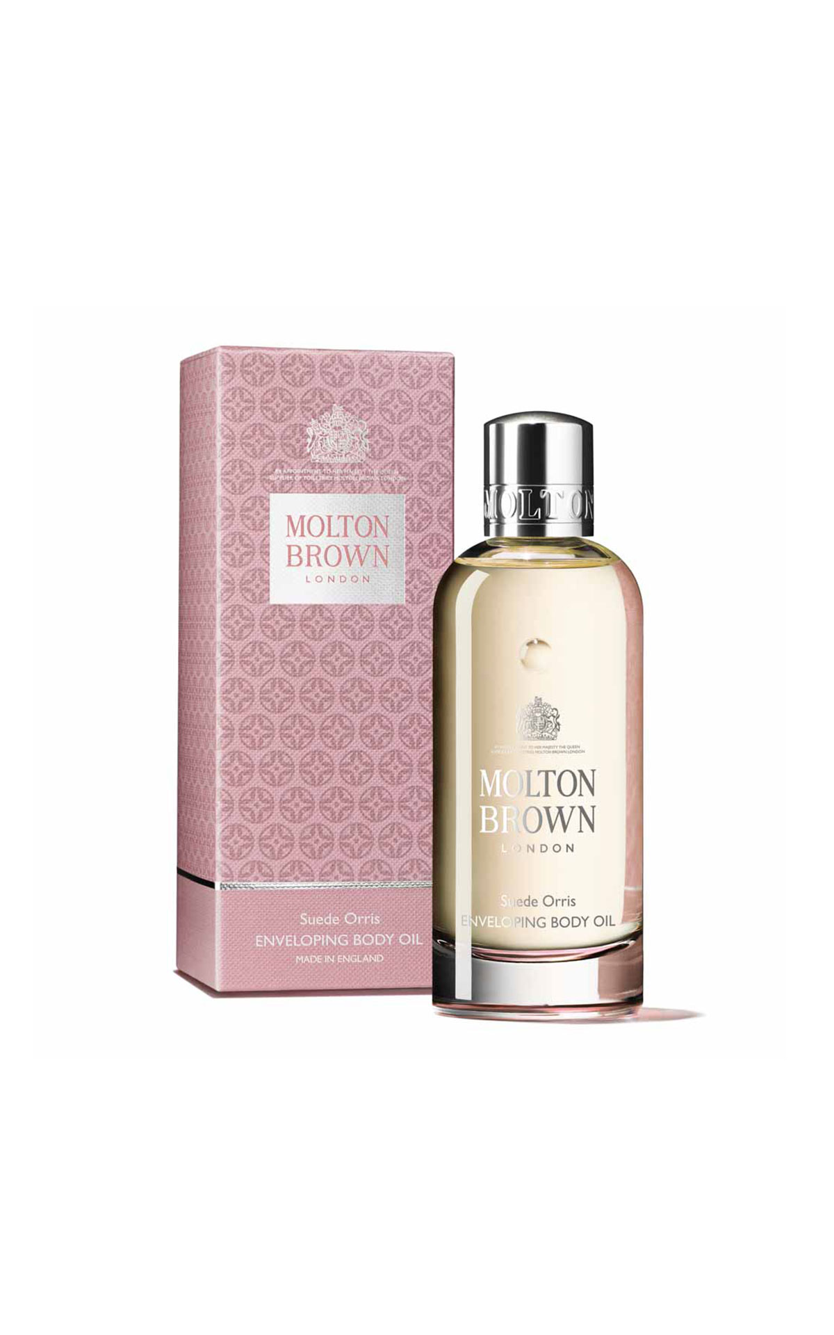 Molton Brown Suede orris body oil from Bicester Village