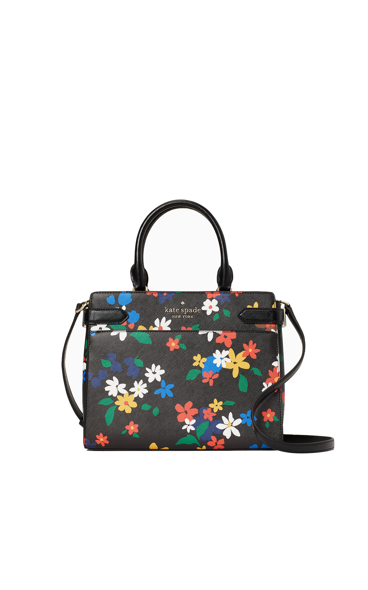 kate spade new york Staci sailing floral medium satchel from Bicester Village