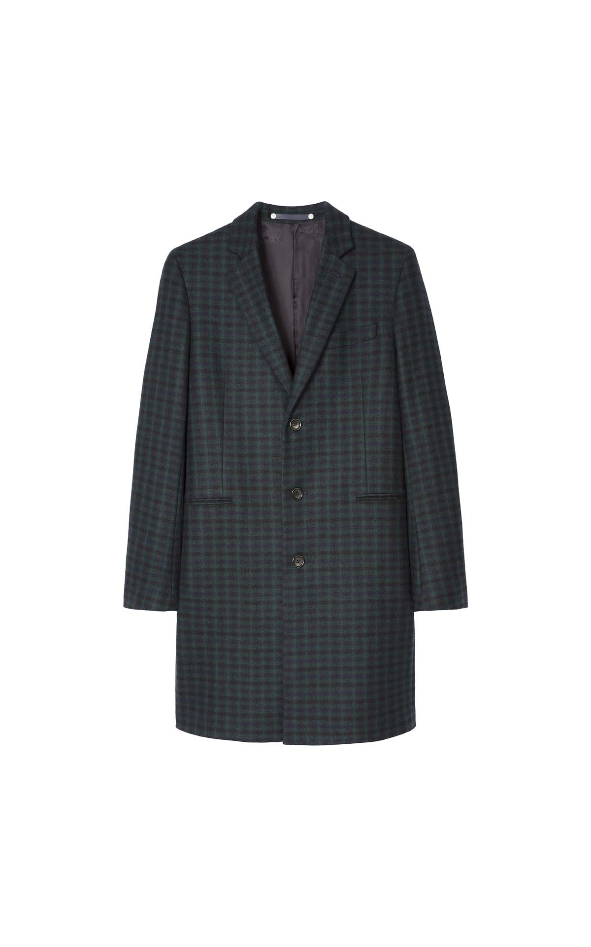 Paul Smith Men's Overcoat at The Bicester Village Shopping Collection