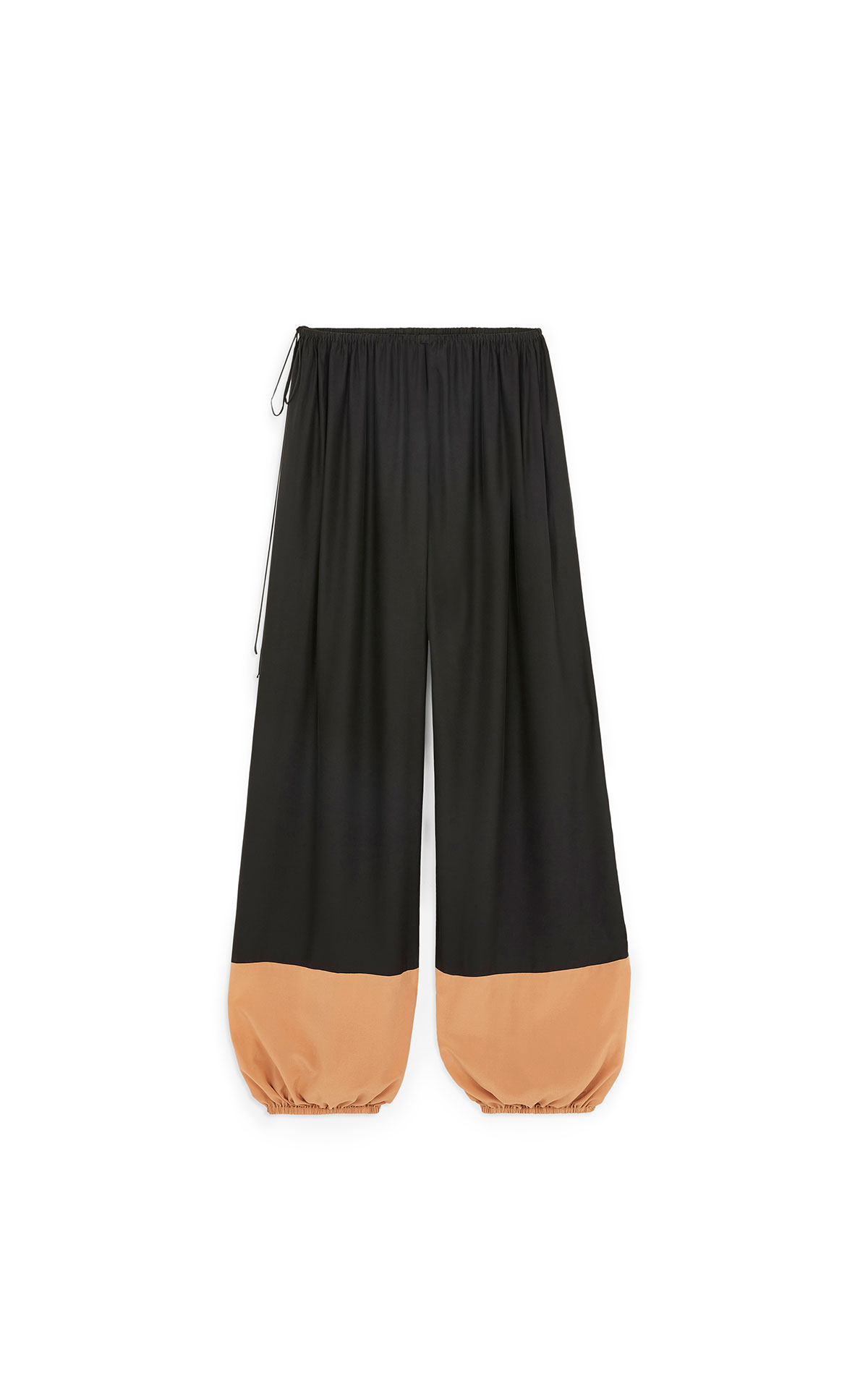 Stella McCartney Agnes silk trousers from Bicester Village