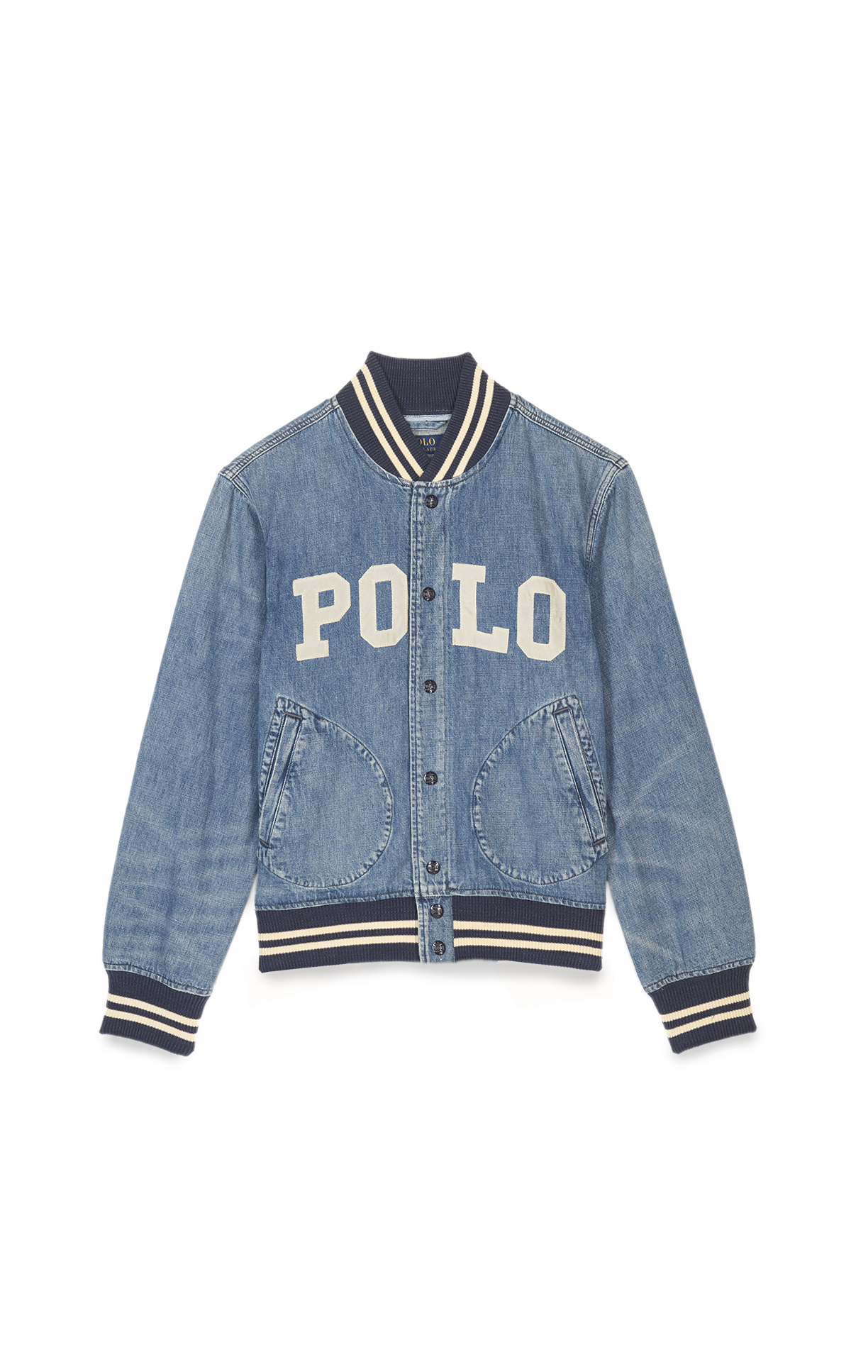 Polo Veste en denim homme*