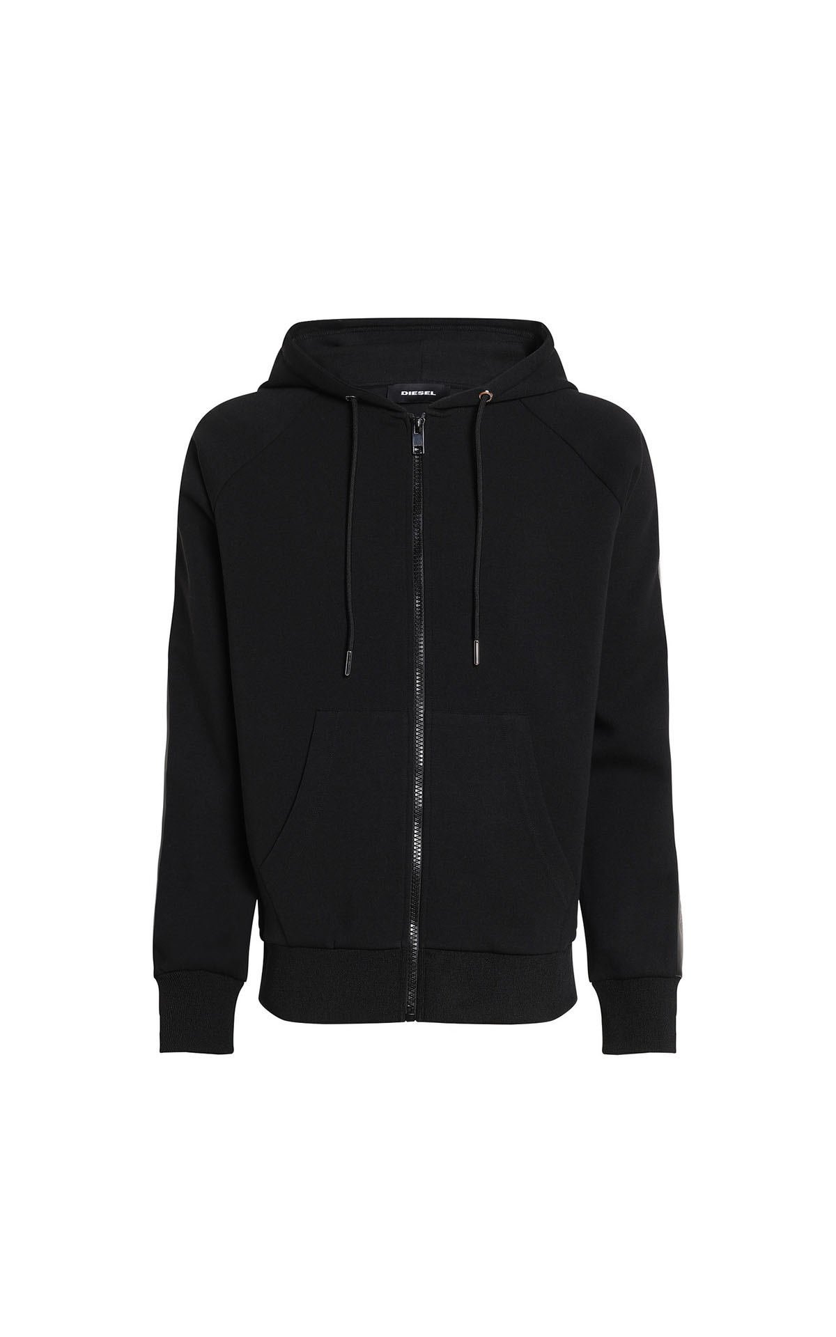 Diesel zip up hoodie with tonal tapes at The Bicester Village Shopping Collection