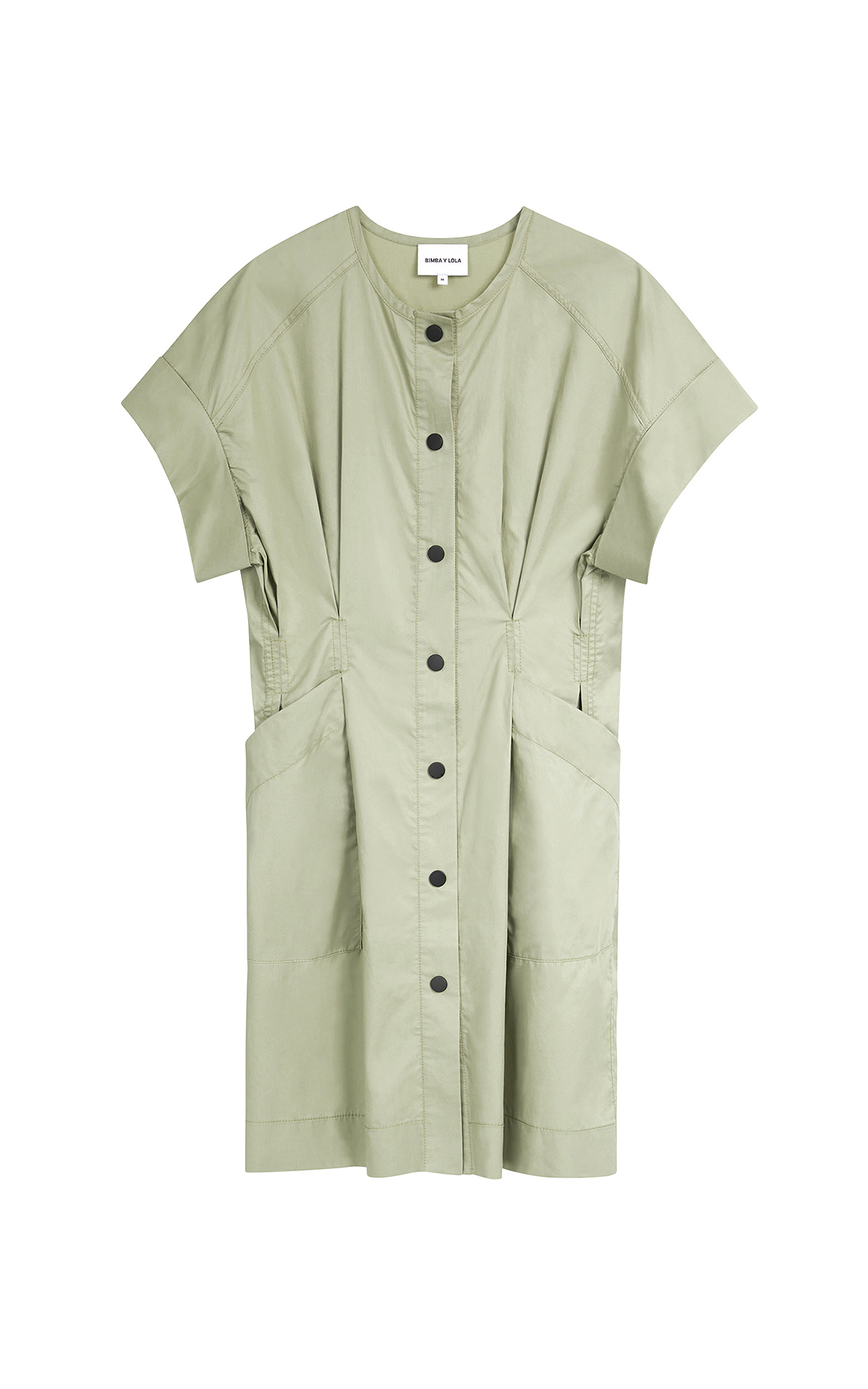 Khaki short dress Bimba y Lola