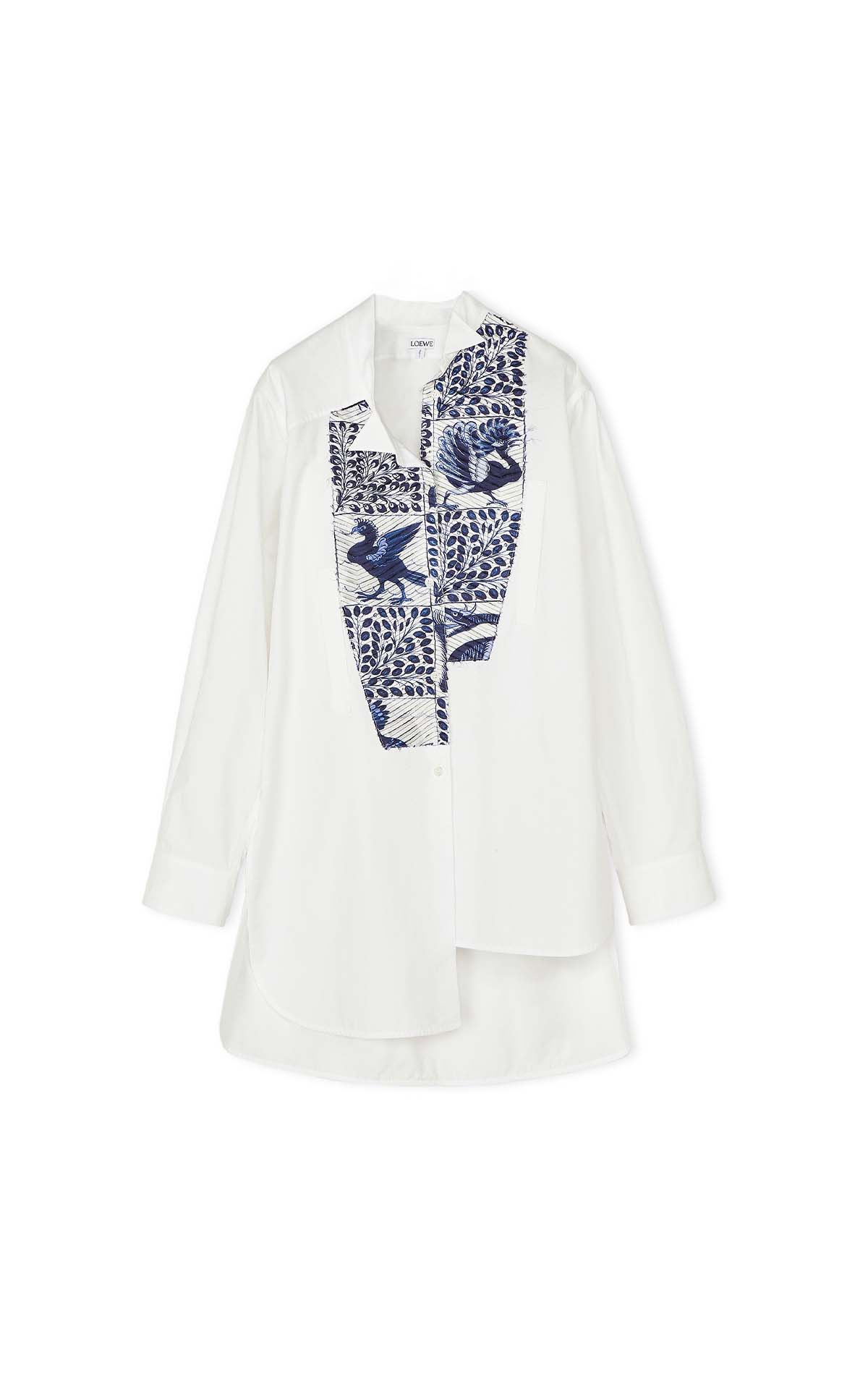 Loewe asymmetrical animal shirt at The Bicester Village Shopping Collection