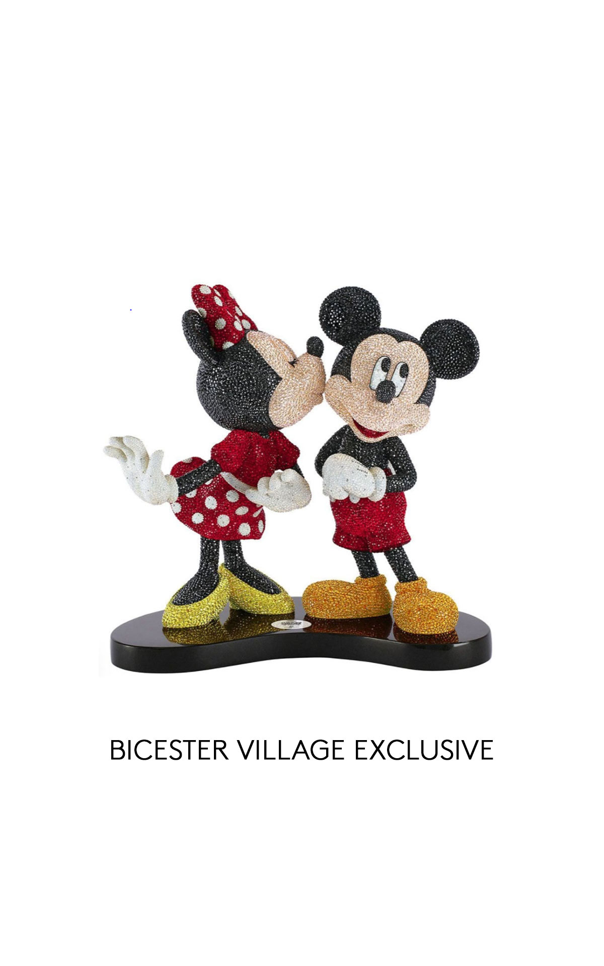 Swarovski Mickey & Minnie figure from Bicester Village