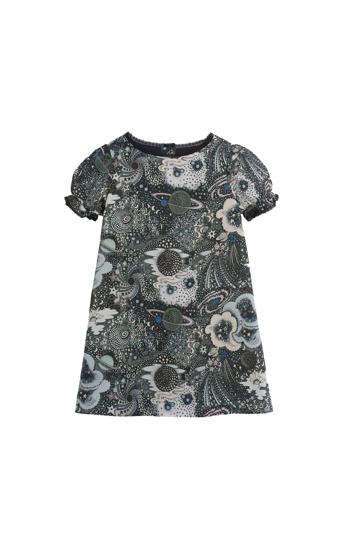 Bonpoint Space print dress from Bicester Village
