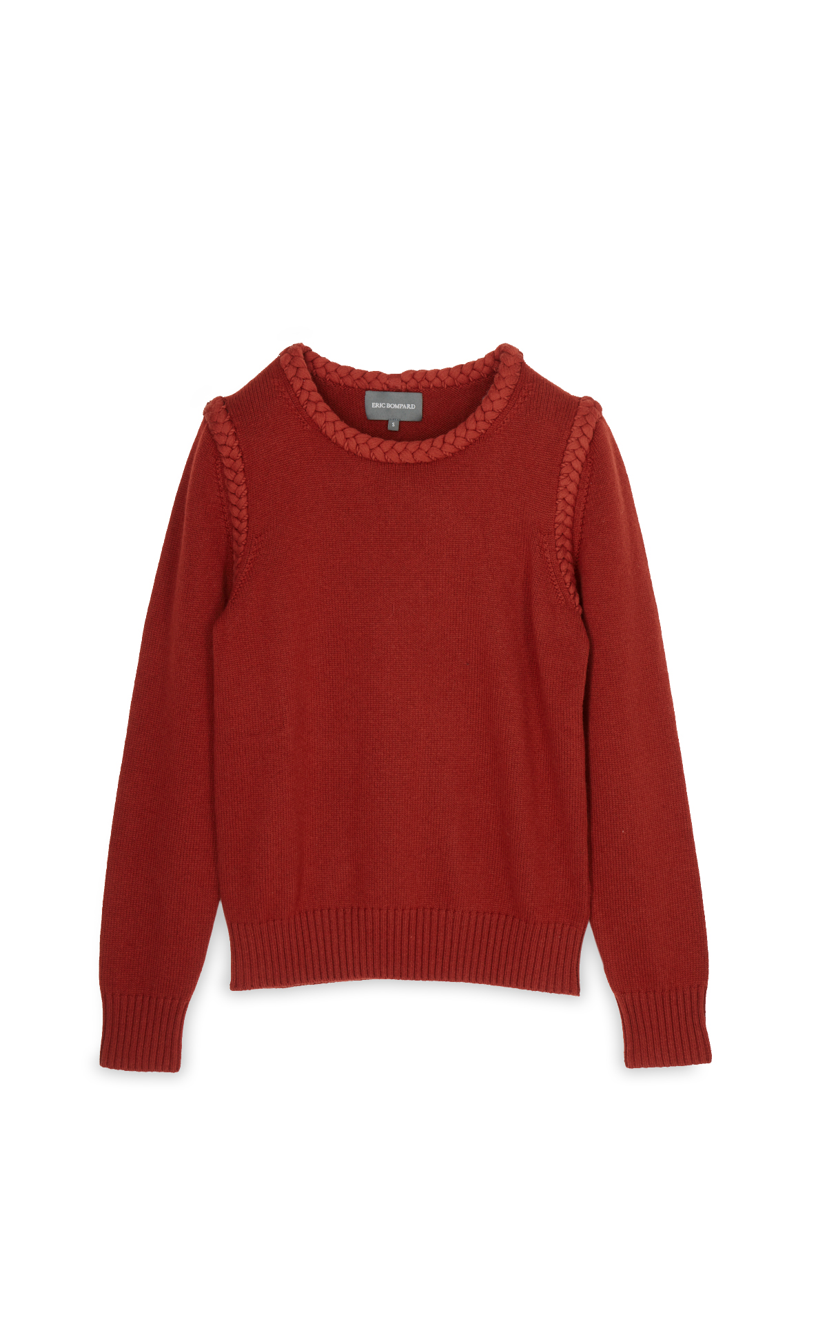 La Vallée Village Eric Bompard Jumper with braided detailing