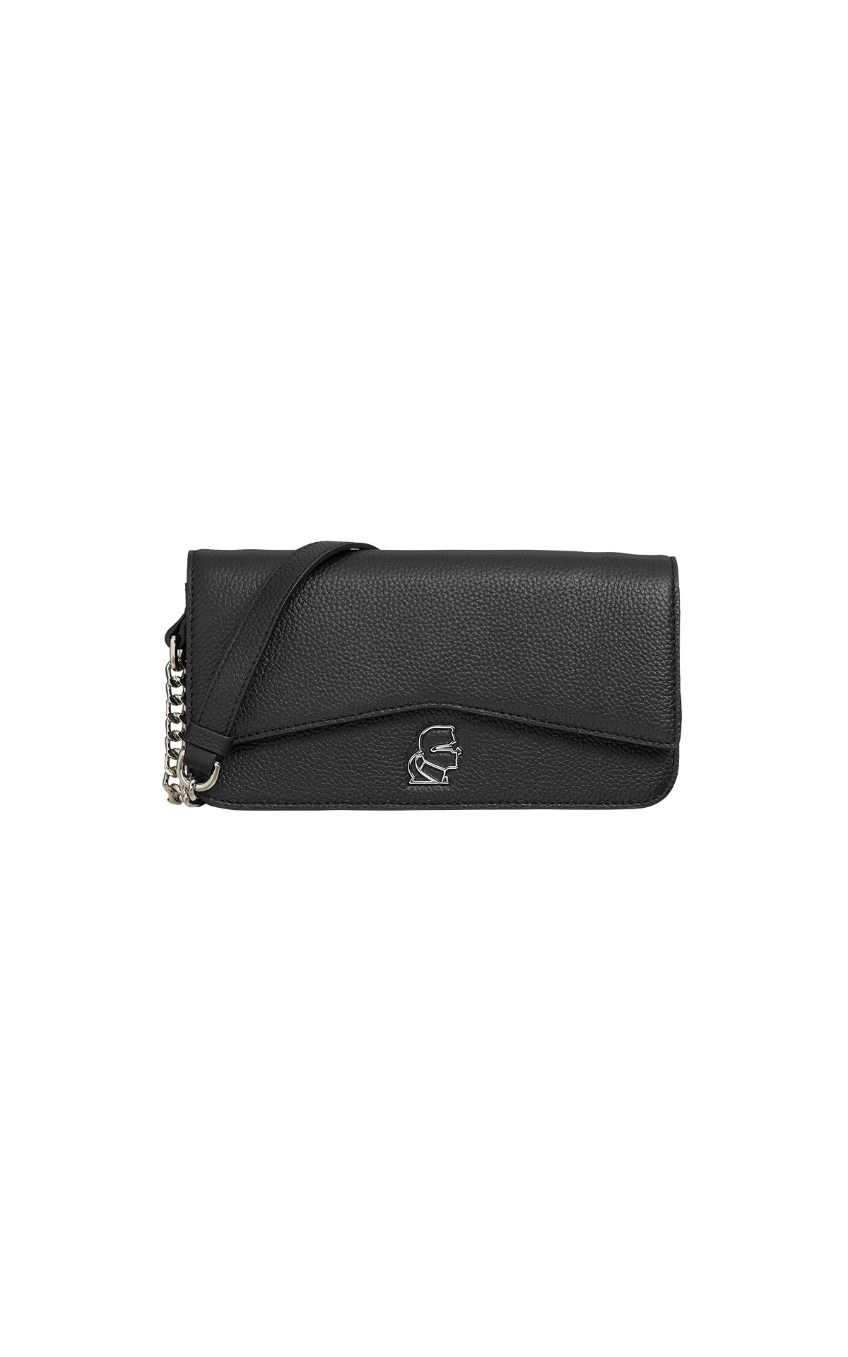 Karl Lagerfeld k/pebble evening clutch at The Bicester Village Shopping Collection
