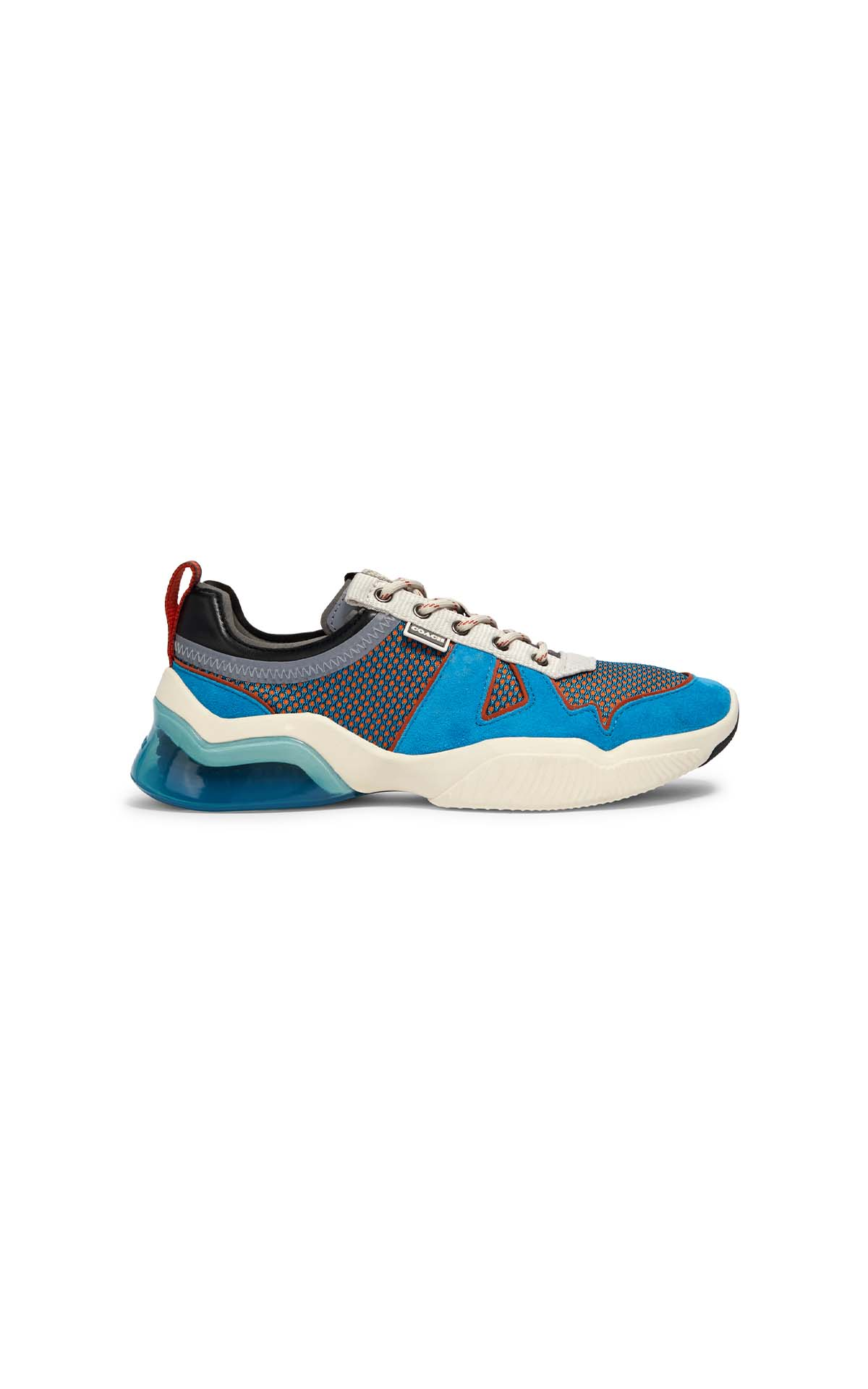 Coach CitySole mesh runner in blue jay at The Bicester Village Shopping Collection