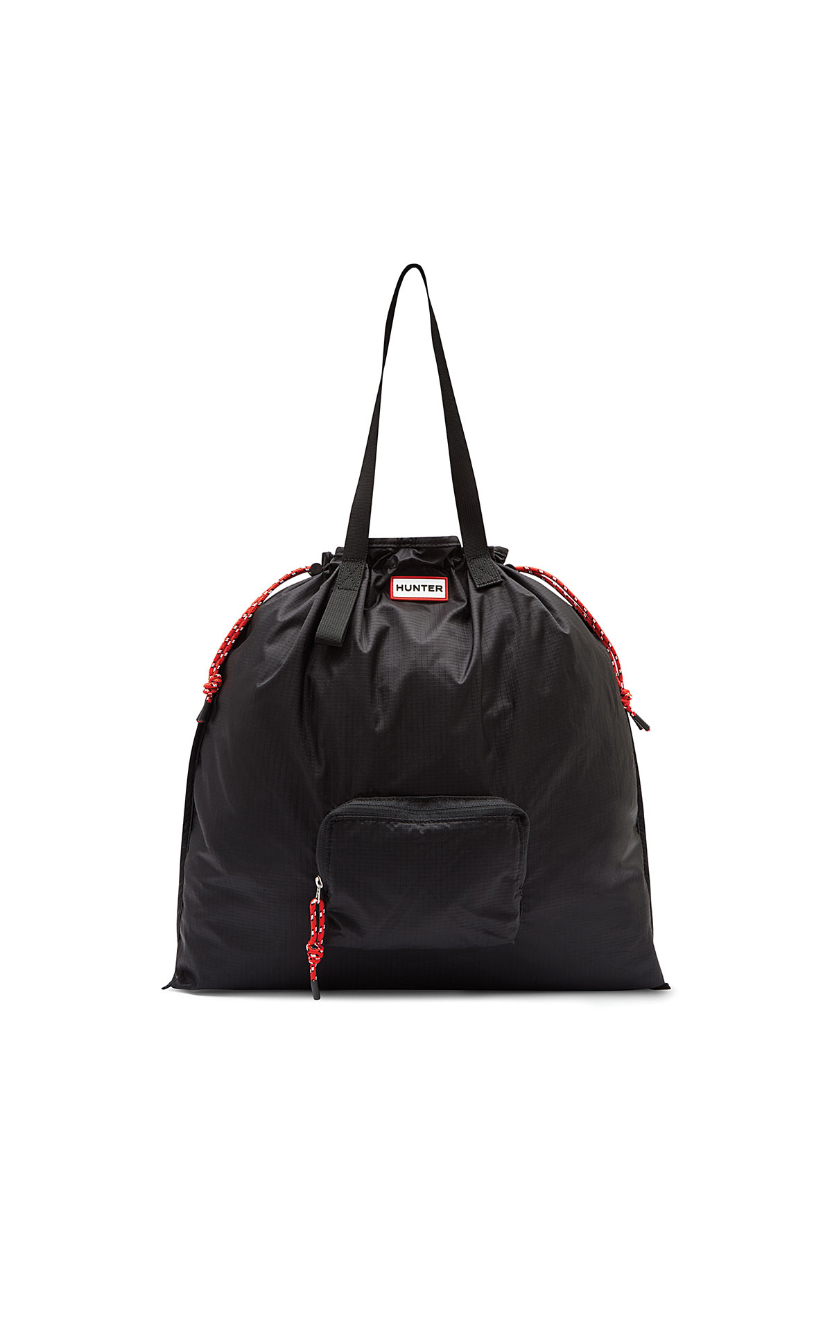 Hunter Original packable tote black from Bicester Village
