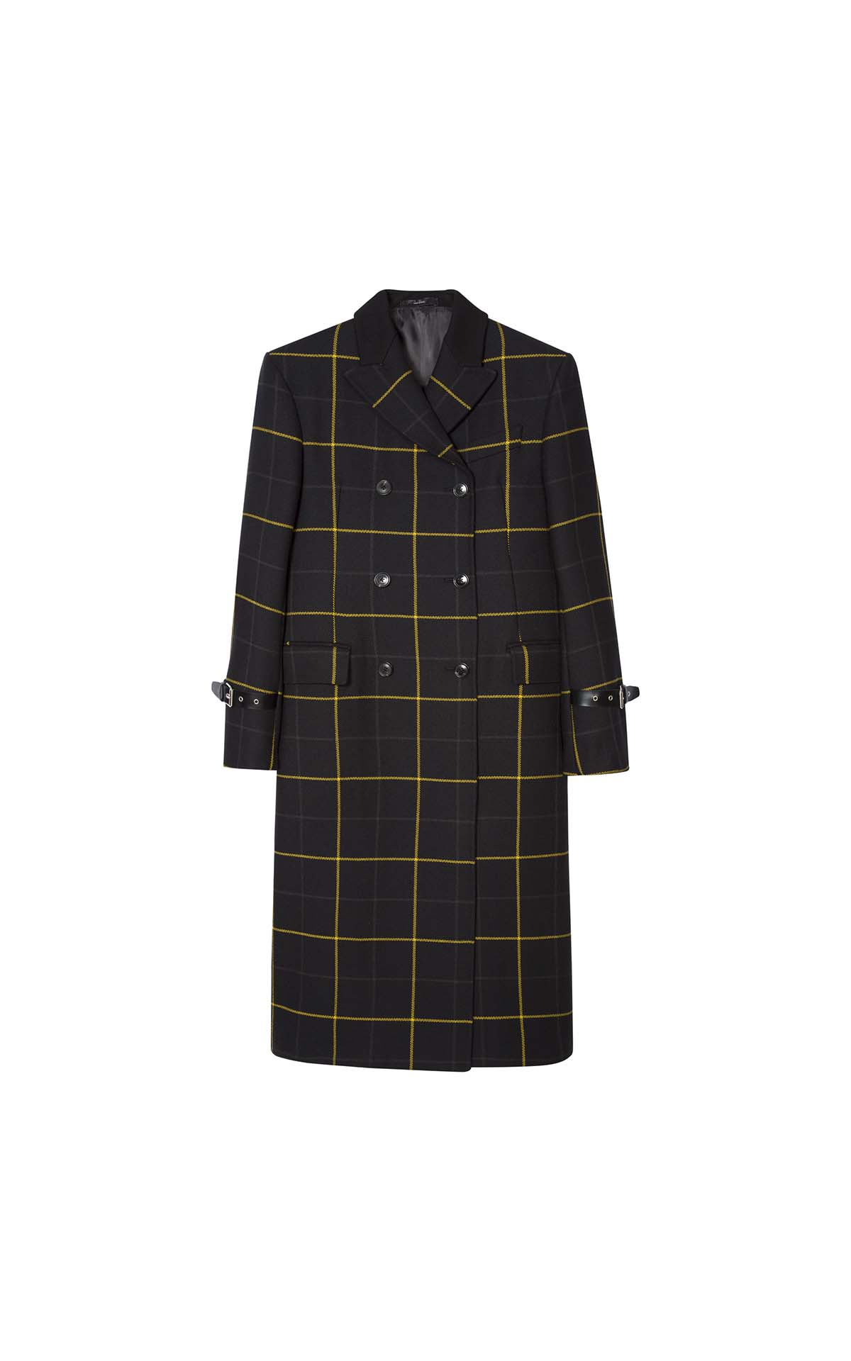 Paul Smith Women's check coat at The Bicester Village Shopping Collection