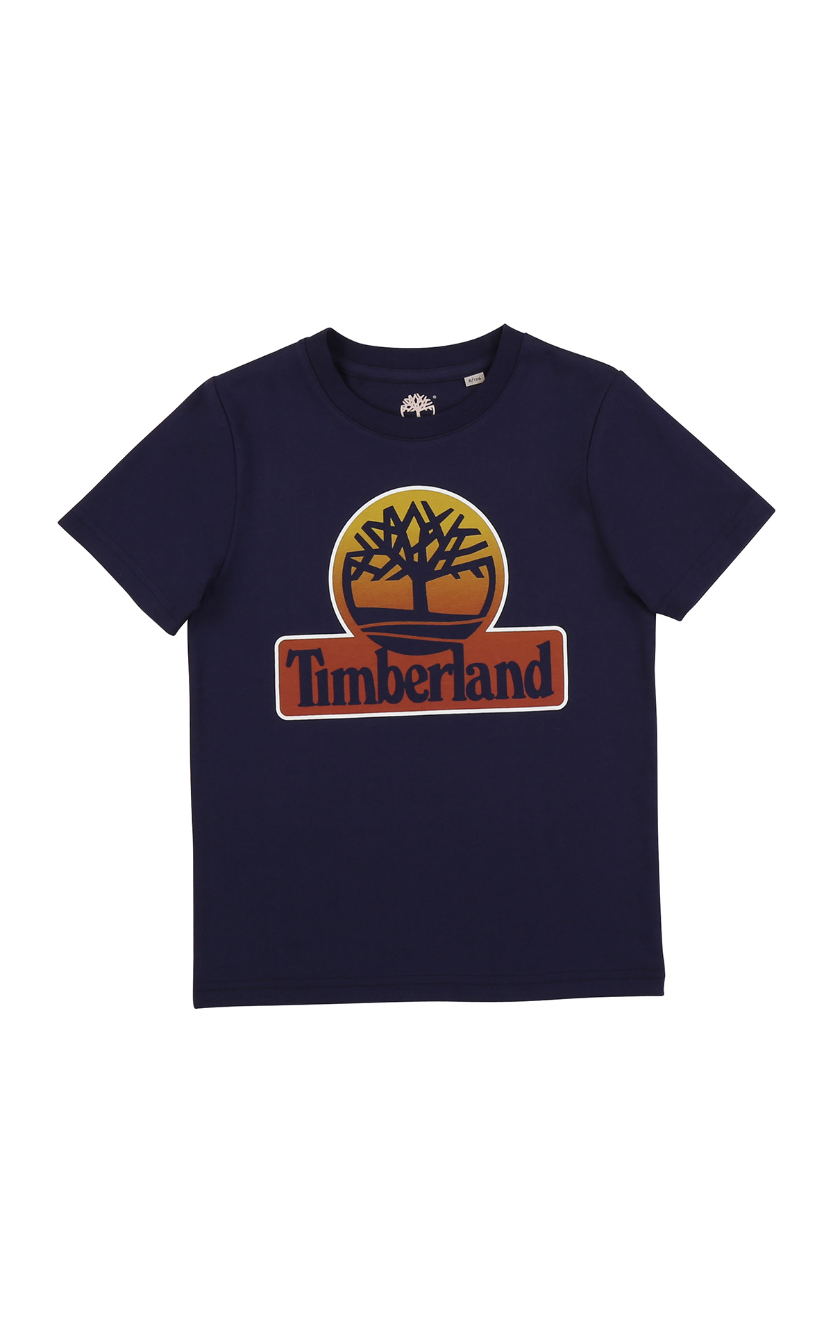 Camiseta azul marino Timberland Kids Around
