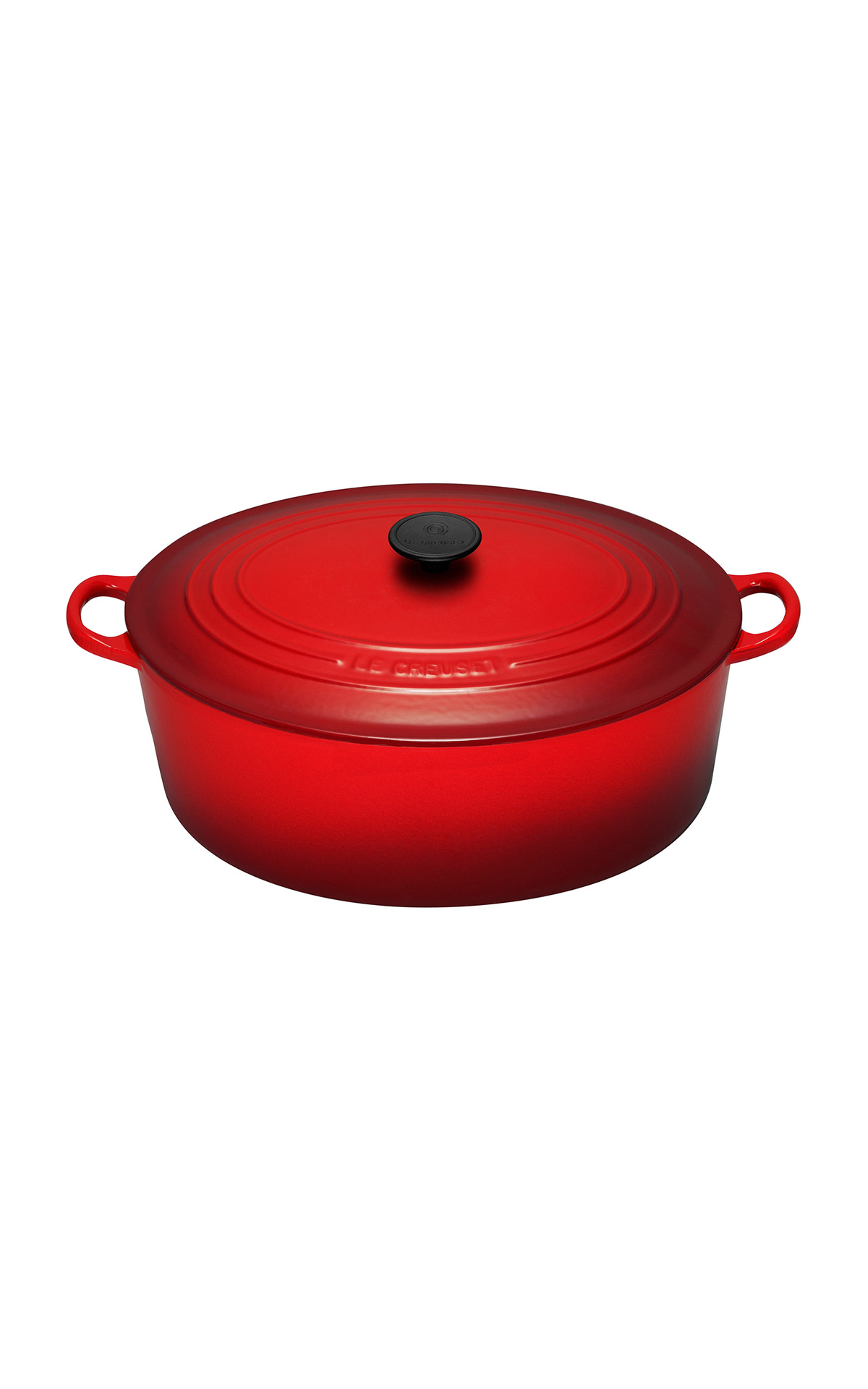 Red cocotte Le Creuset
