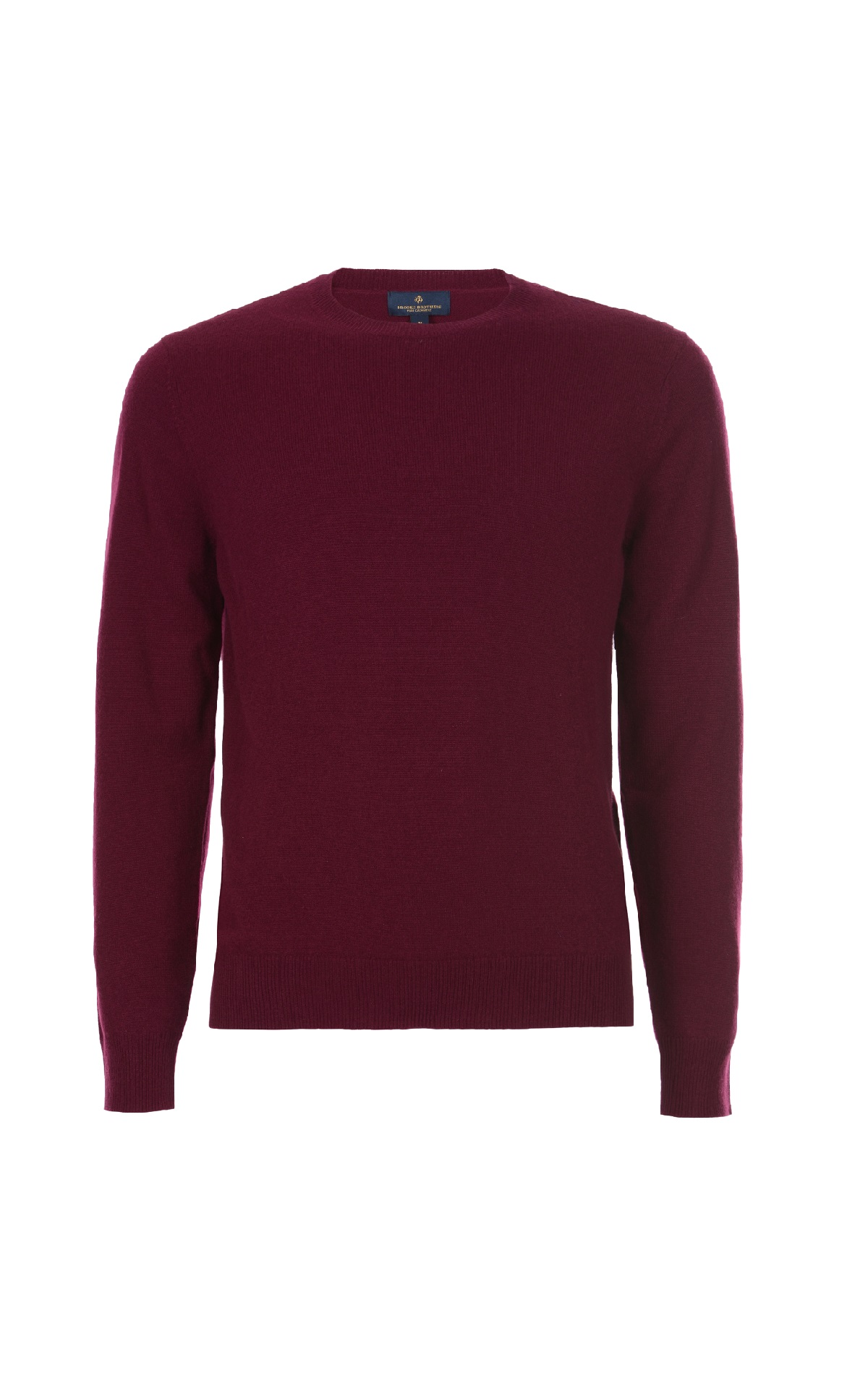 Burgundy cashmere sweater Brooks Brothers
