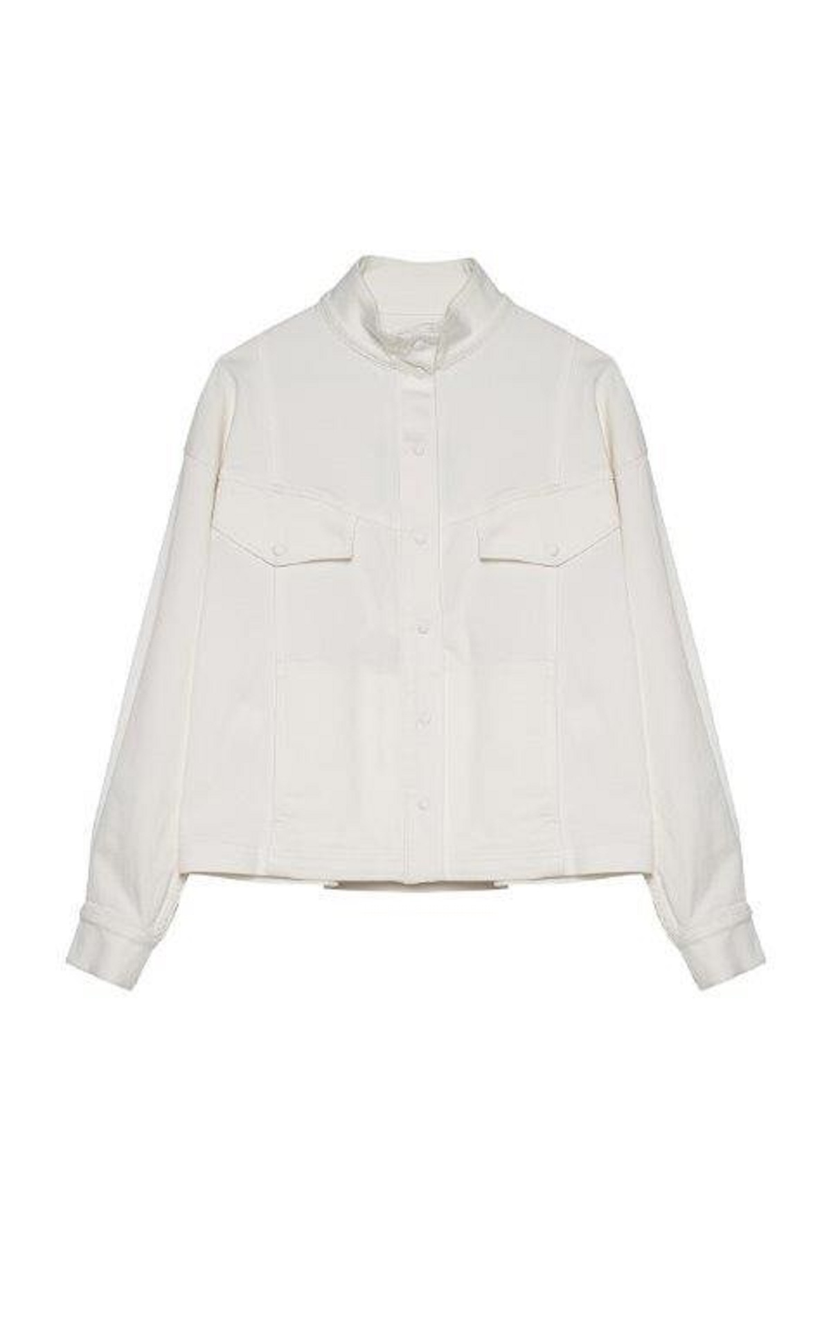 White denim shirt Roberto Verino