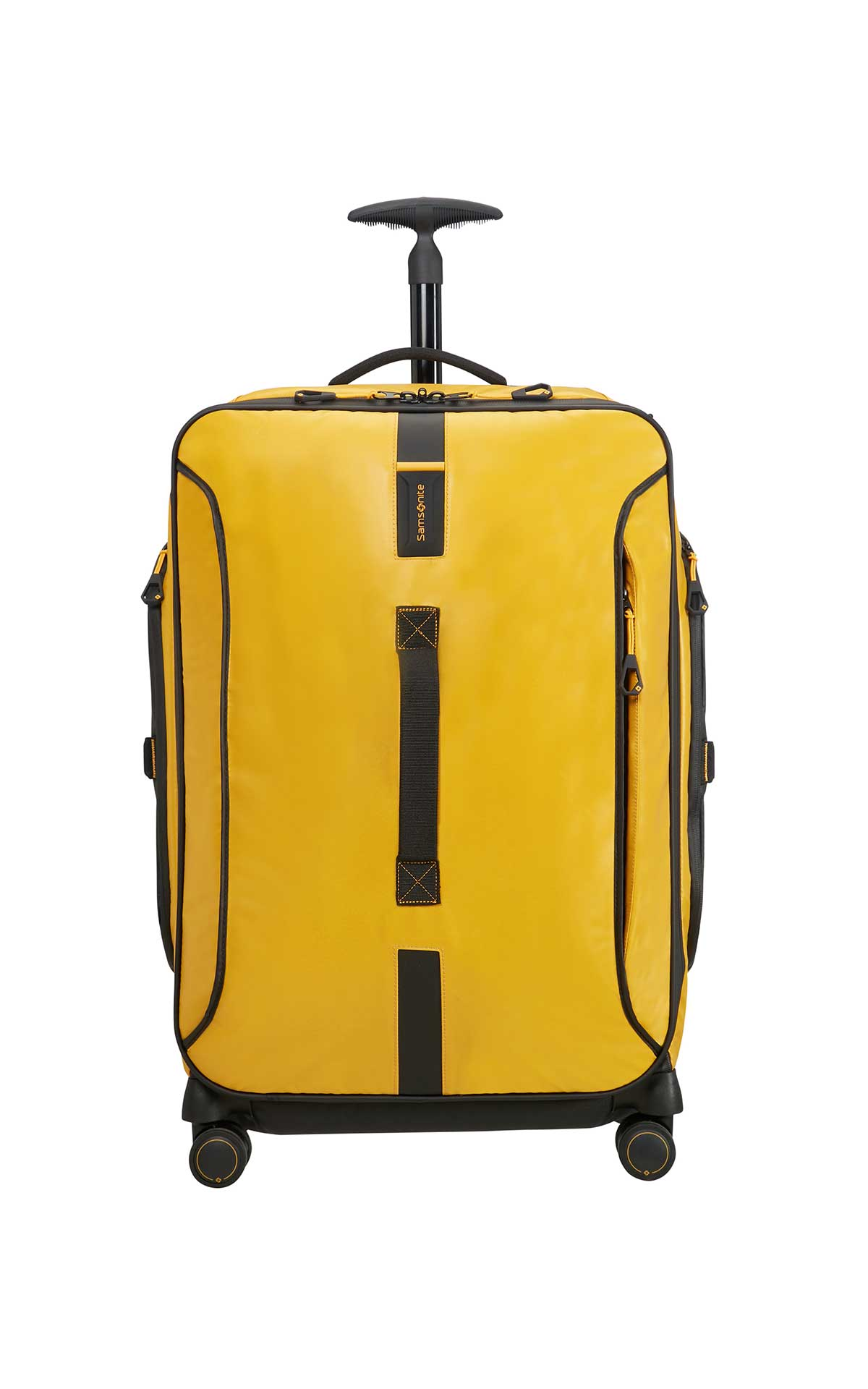 Yellow backpack Samsonite