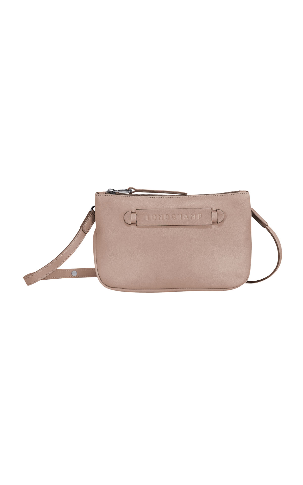 Beige crossbody bag Longchamp