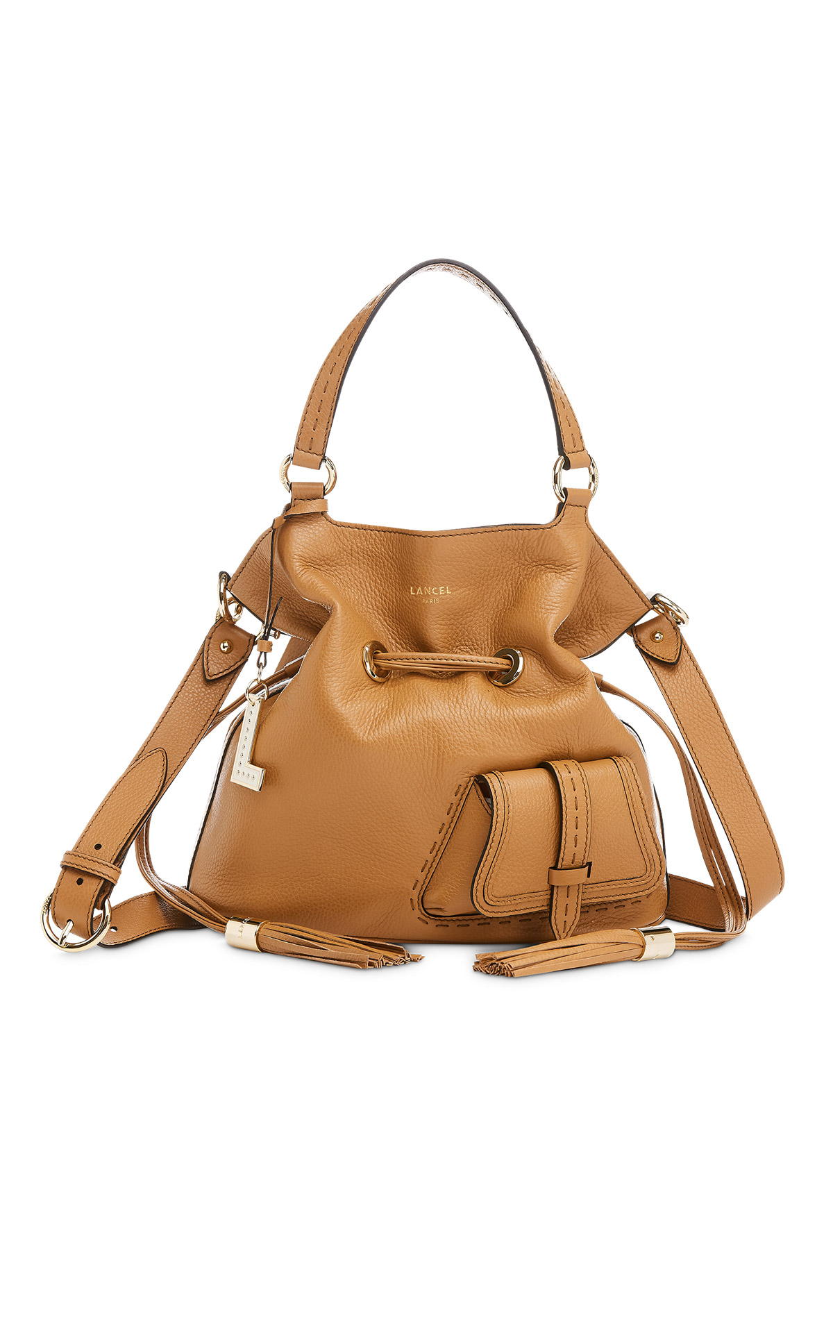 Camel bag from Lancel
