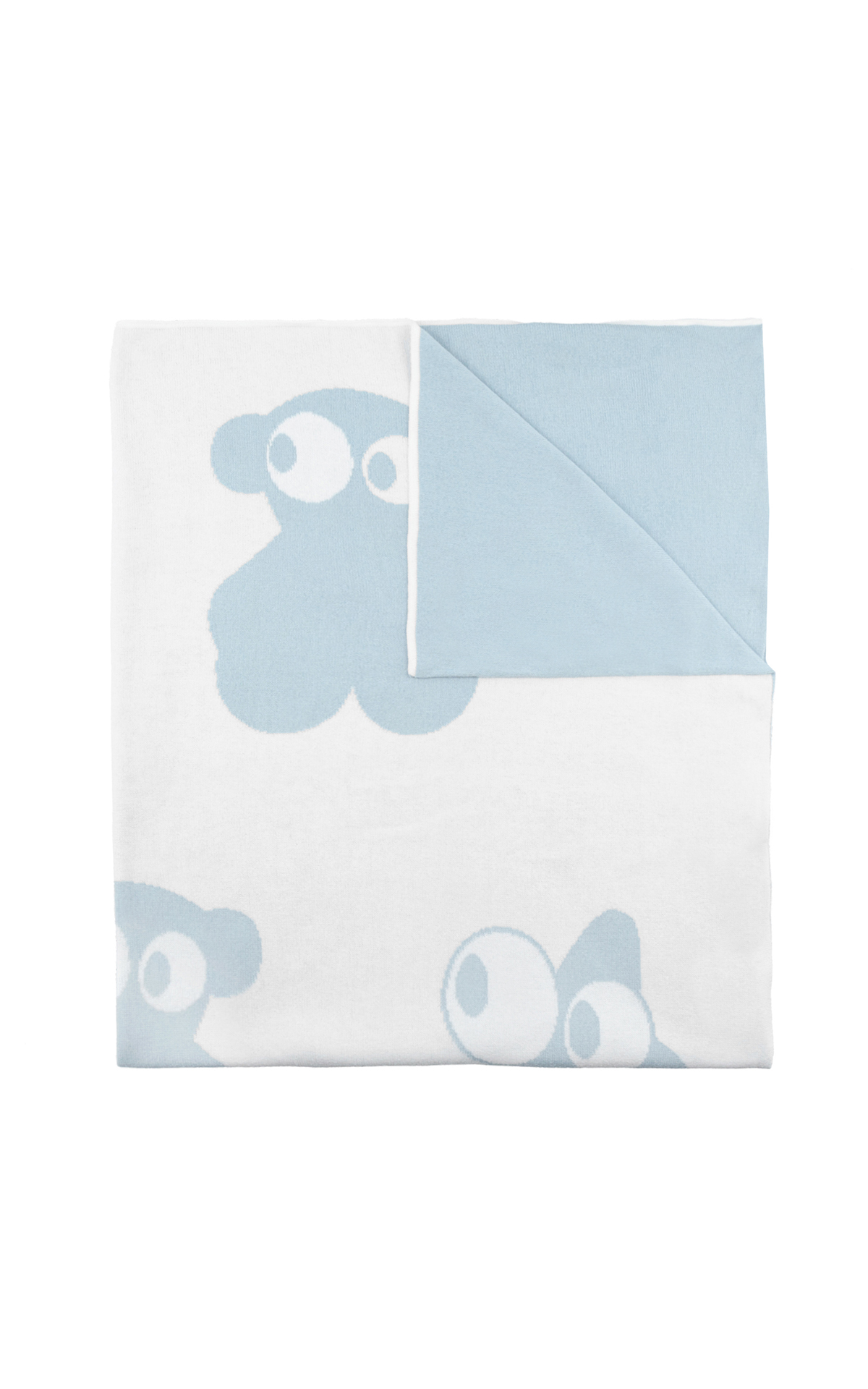 White and blue blanket Tous