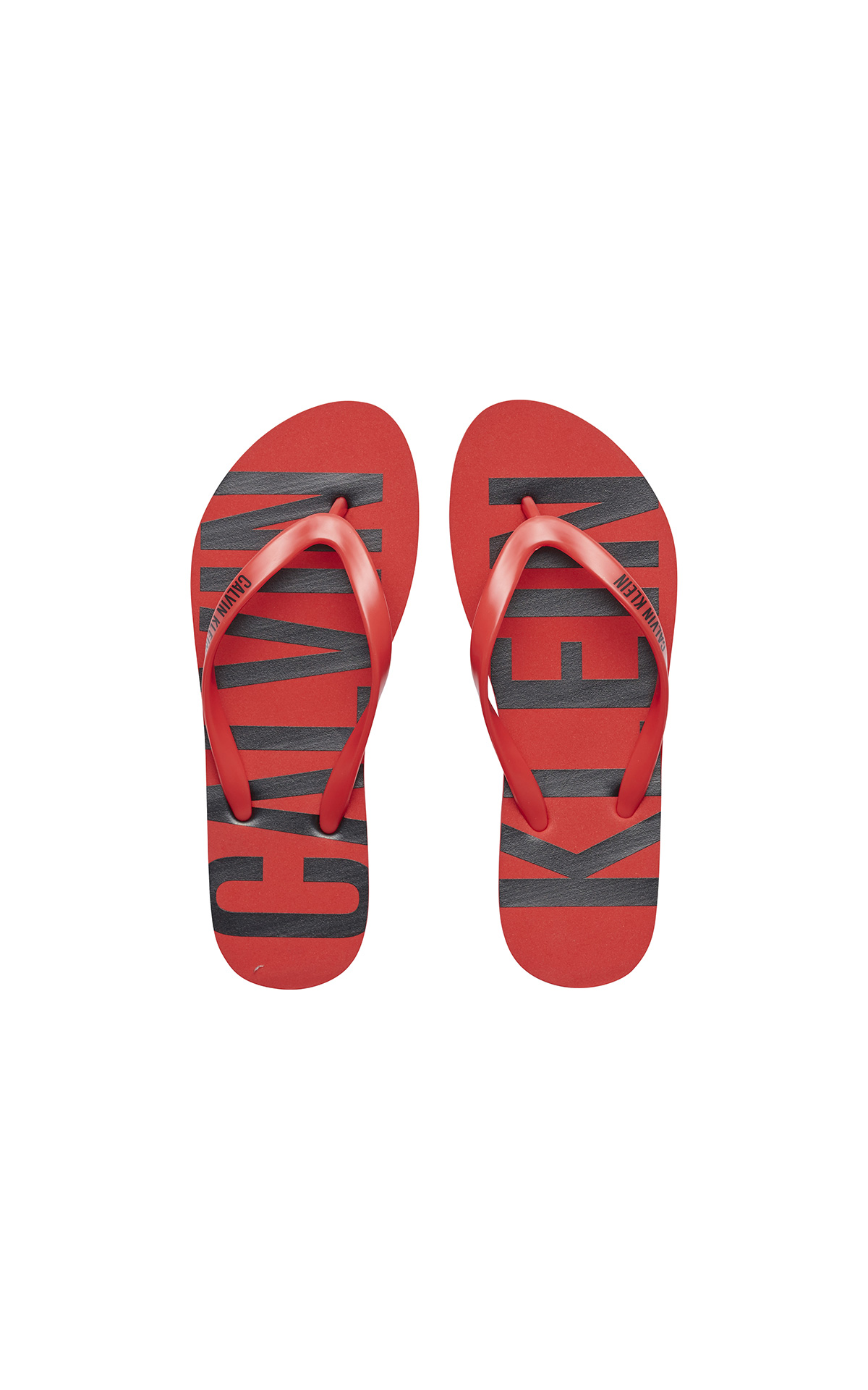 Calvin Klein flip flops at The Bicester Village Shopping Collection