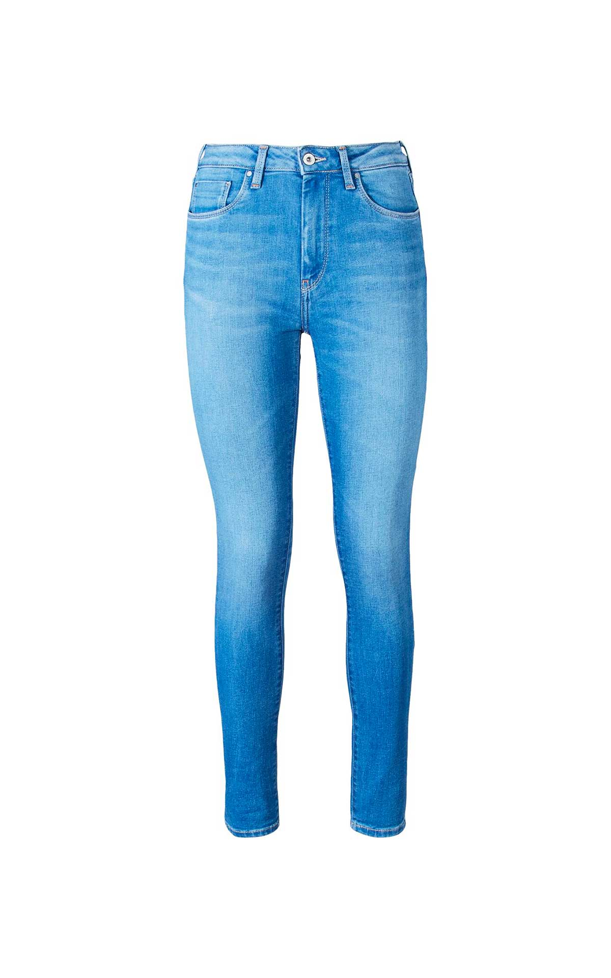 Mid blue women's jeans Pepe Jeans