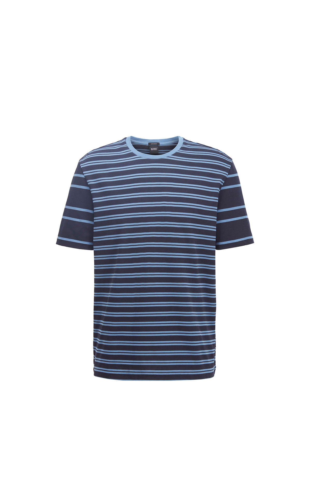 boss cotton stripes tshirt