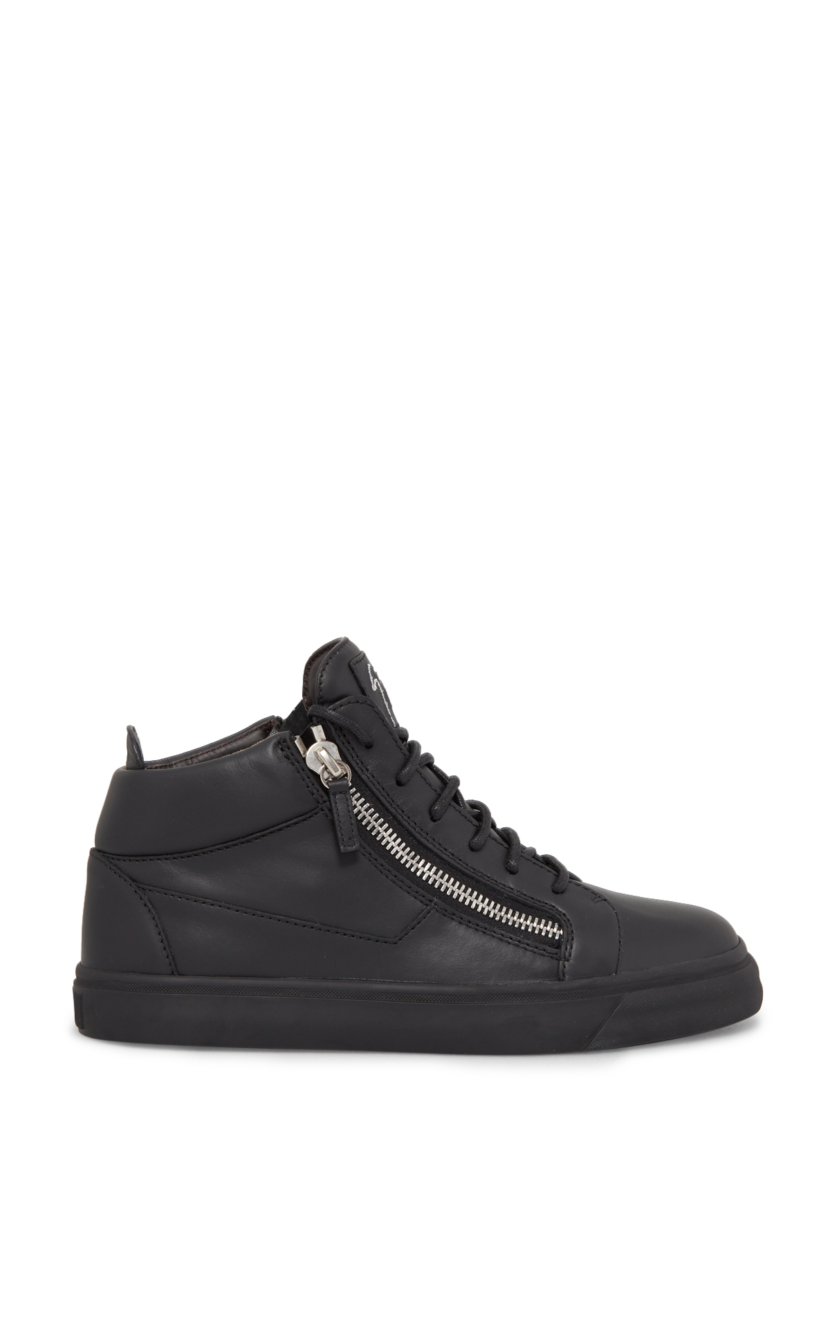 Guiseppe Zanotti Black high-top trainers*