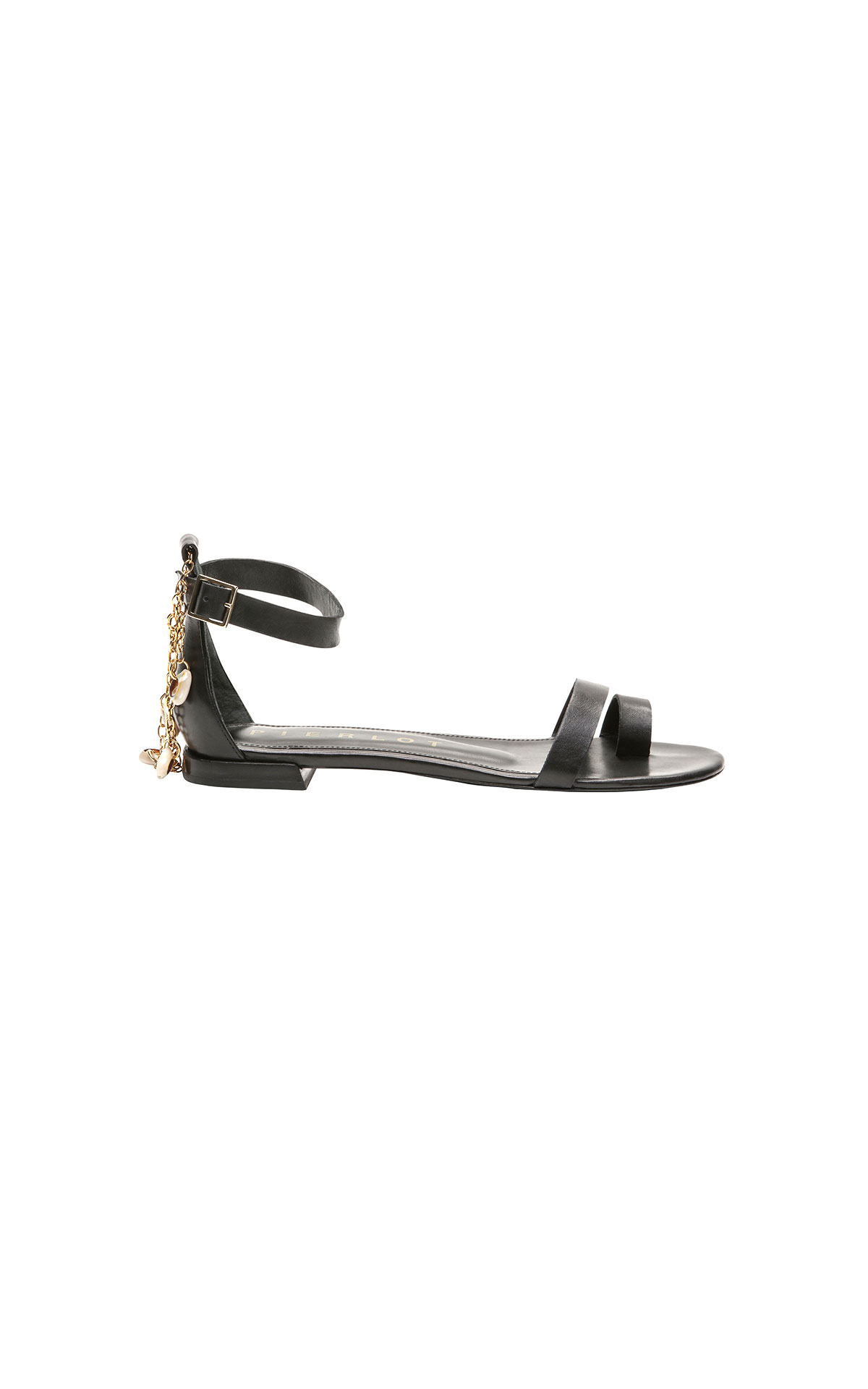 Claudie Pierlot black sandal at The Bicester Village Shopping Collection