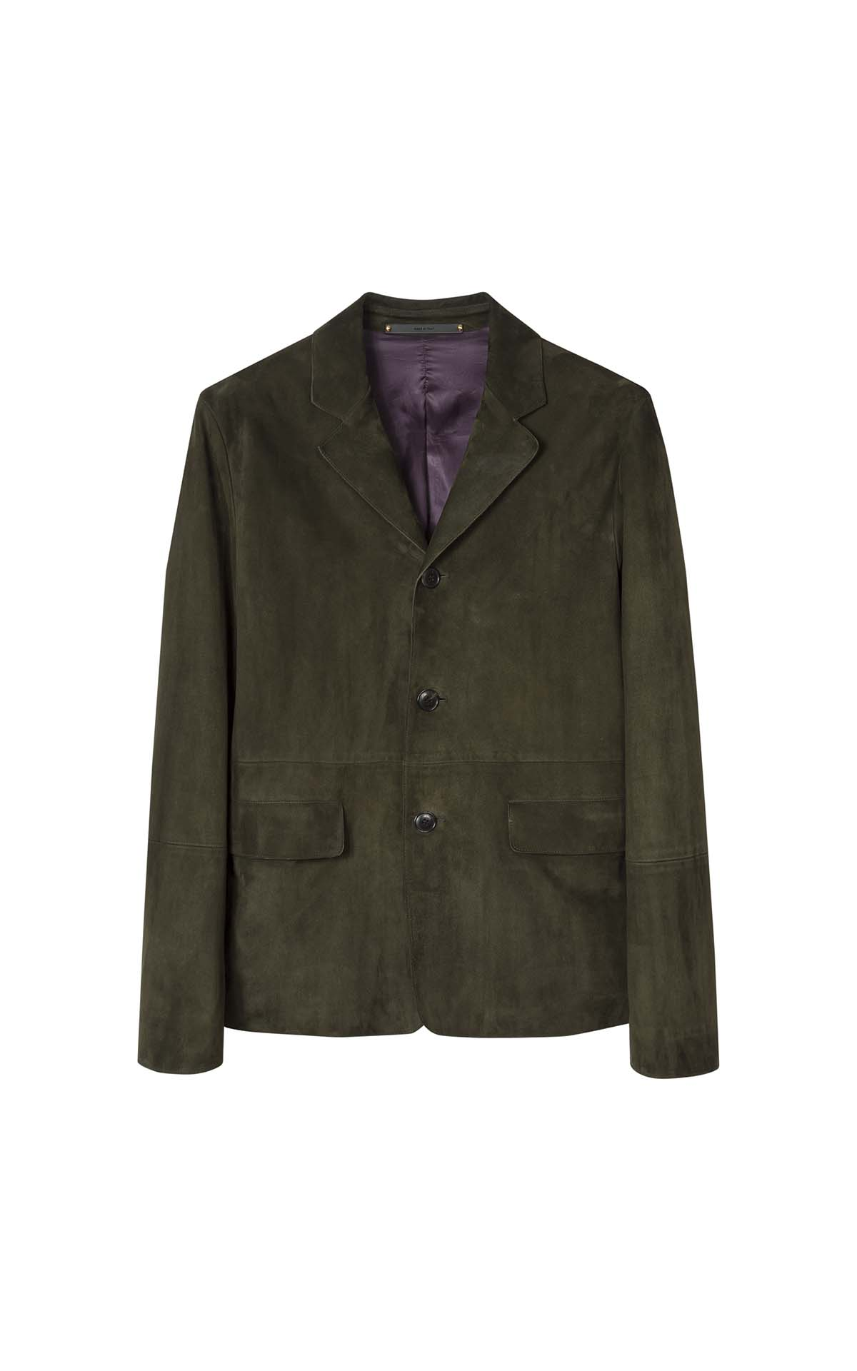 Paul Smith's Men Suede Coat at The Bicester Village Shopping Collection