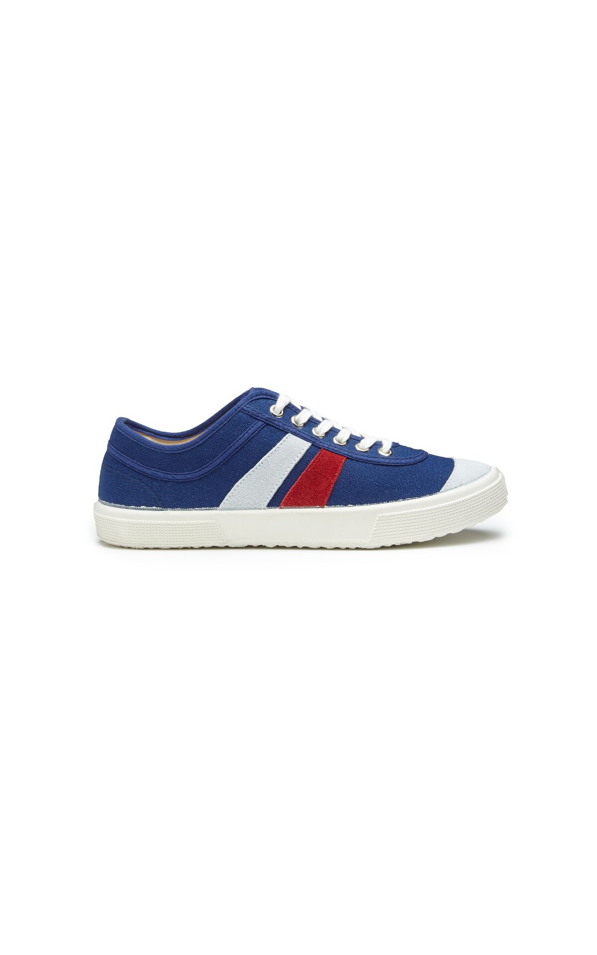 Blue striped sneakers man El Ganso