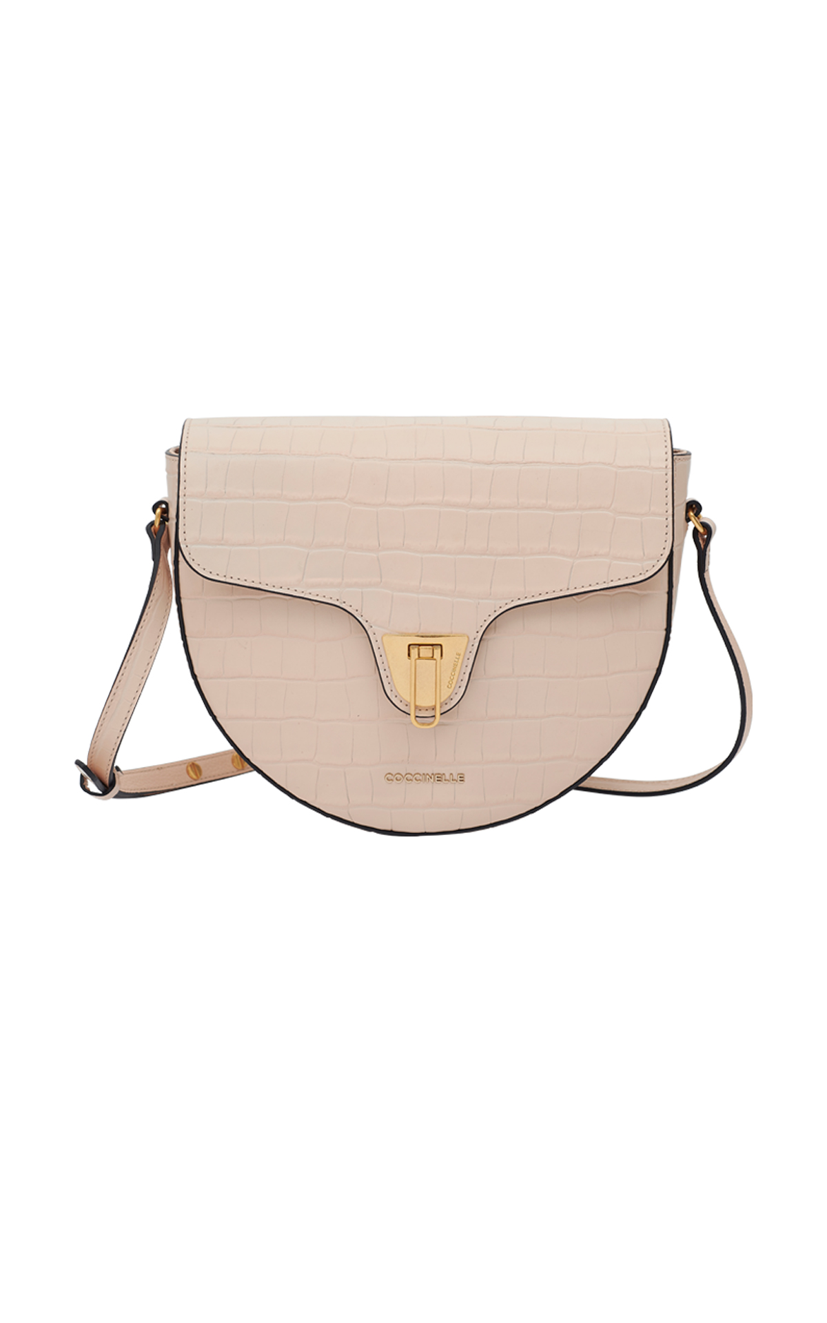 Beige shoulder bag Coccinelle