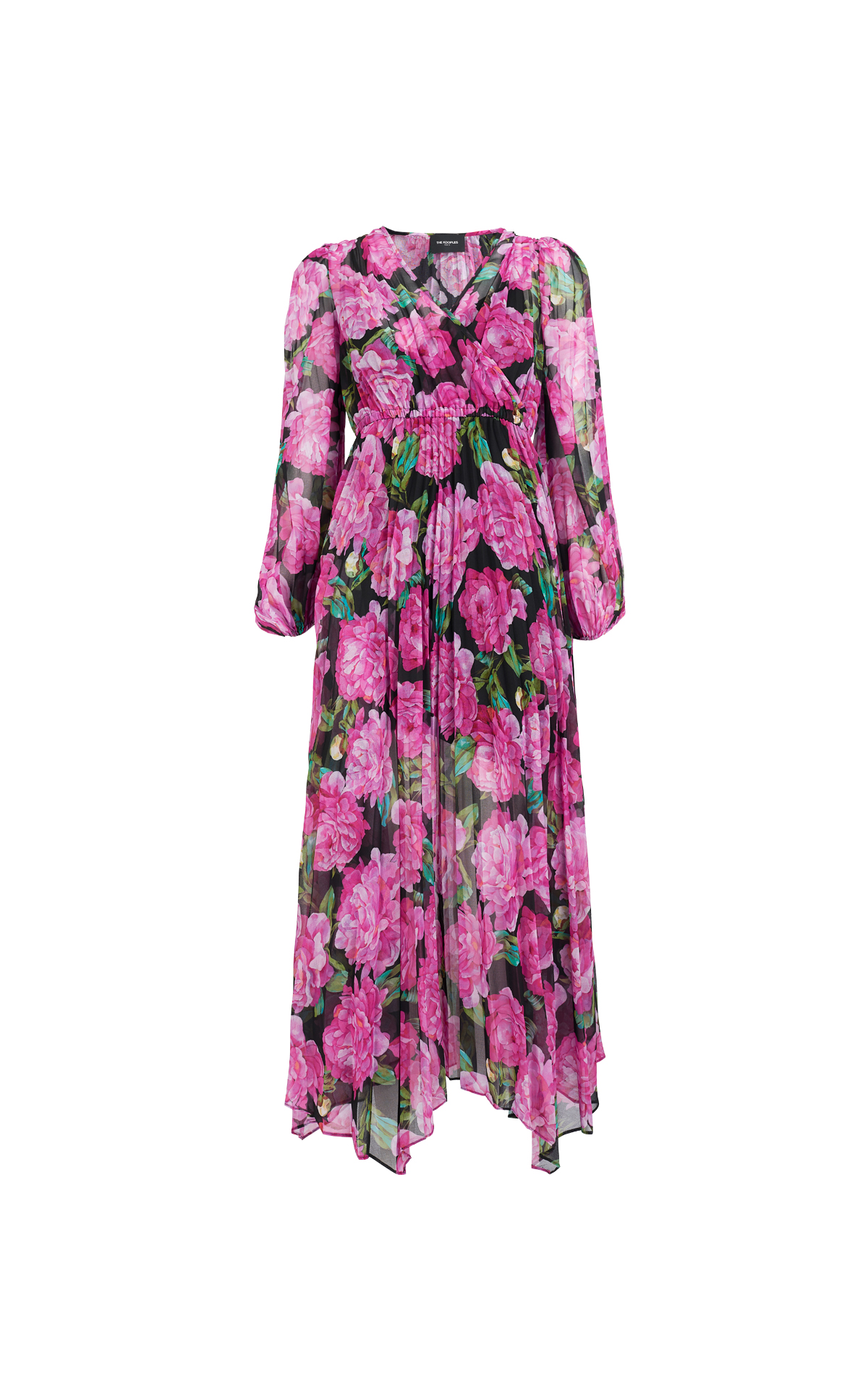 Vestido rosa flores The Kooples