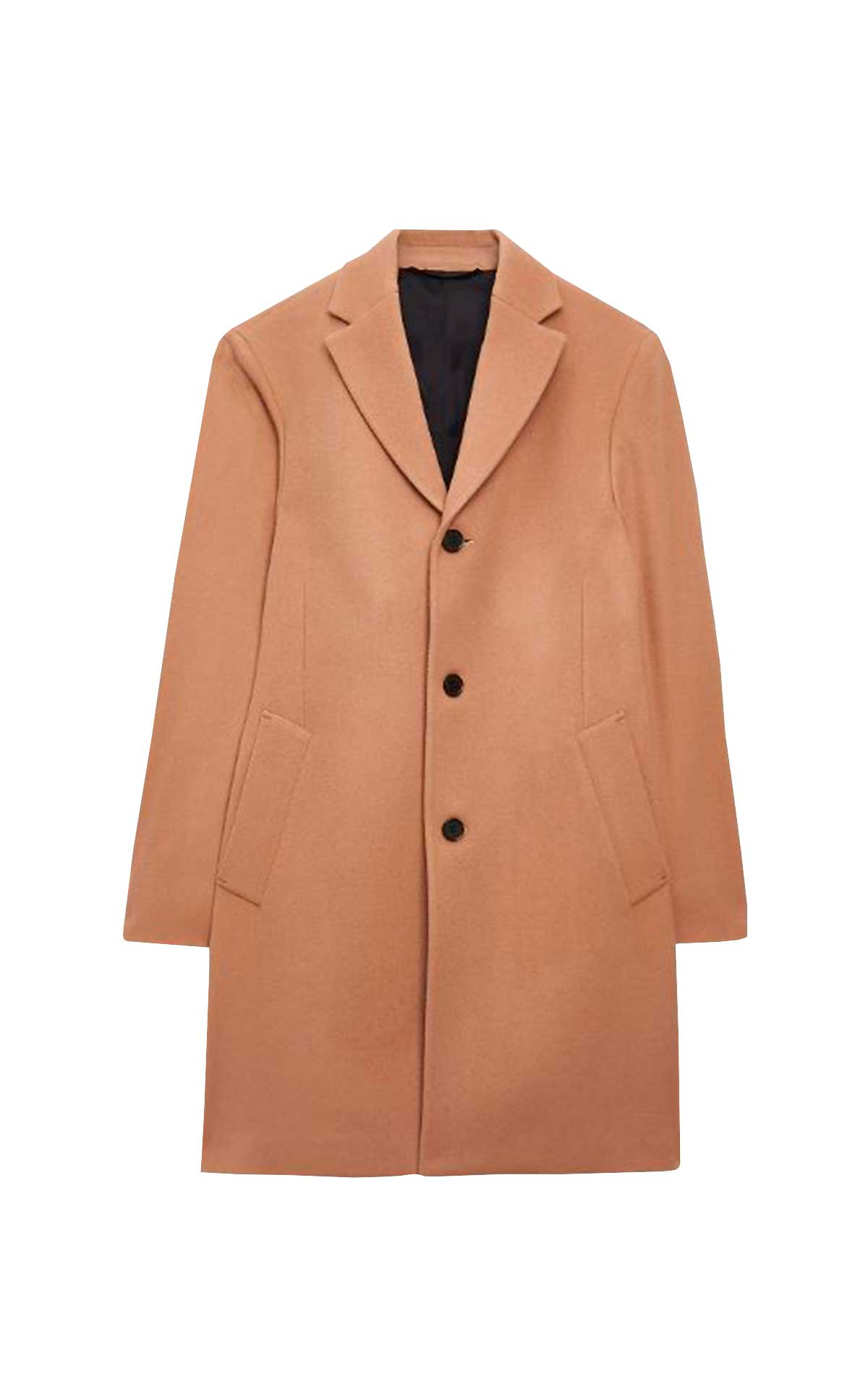 Brown men coat CK