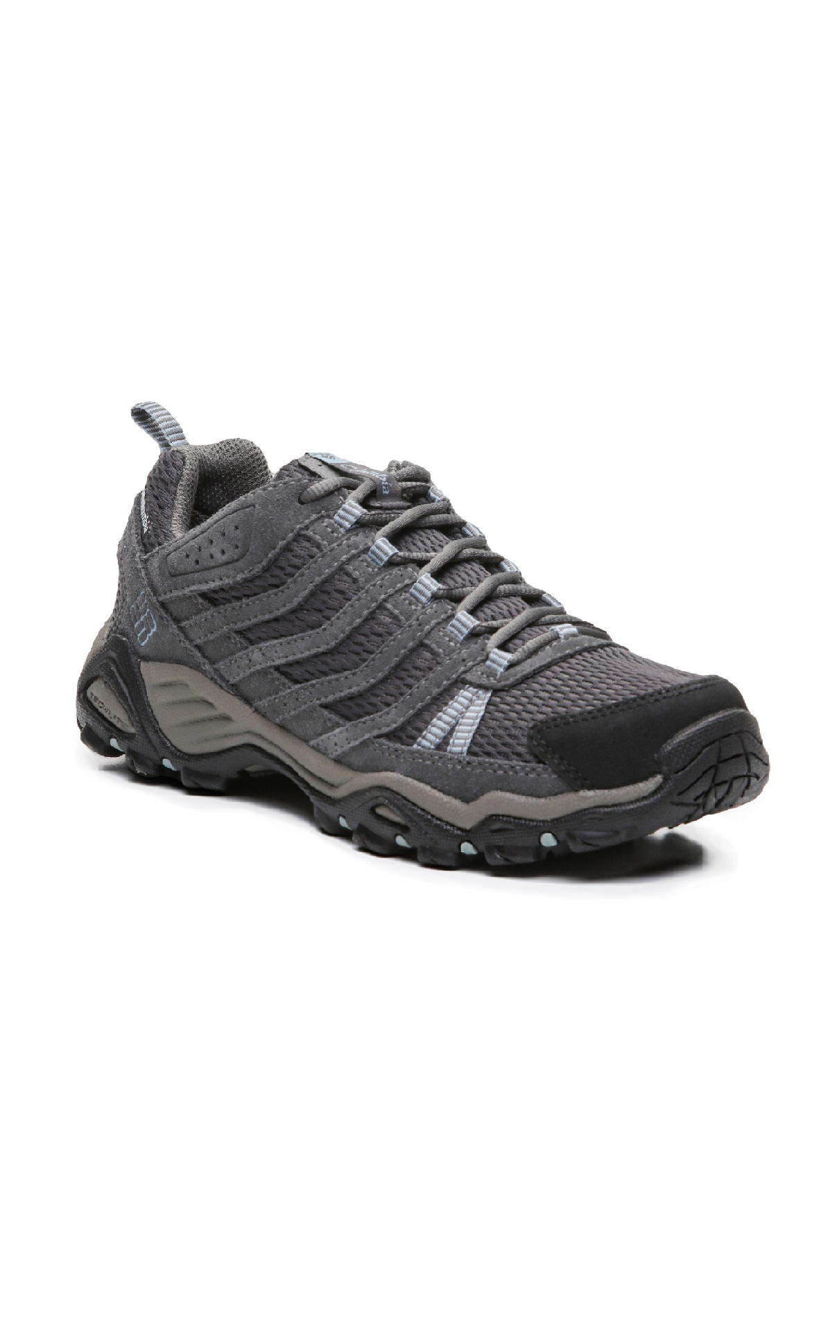 Grey waterproof sneakers Columbia