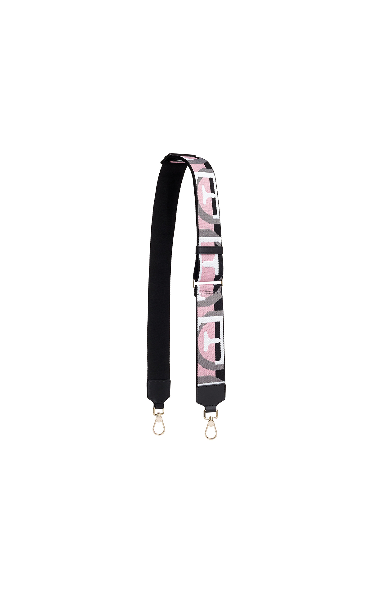 Furla Fiona small shoulder strap in onyx and rose at The Bicester Village Shopping Collection